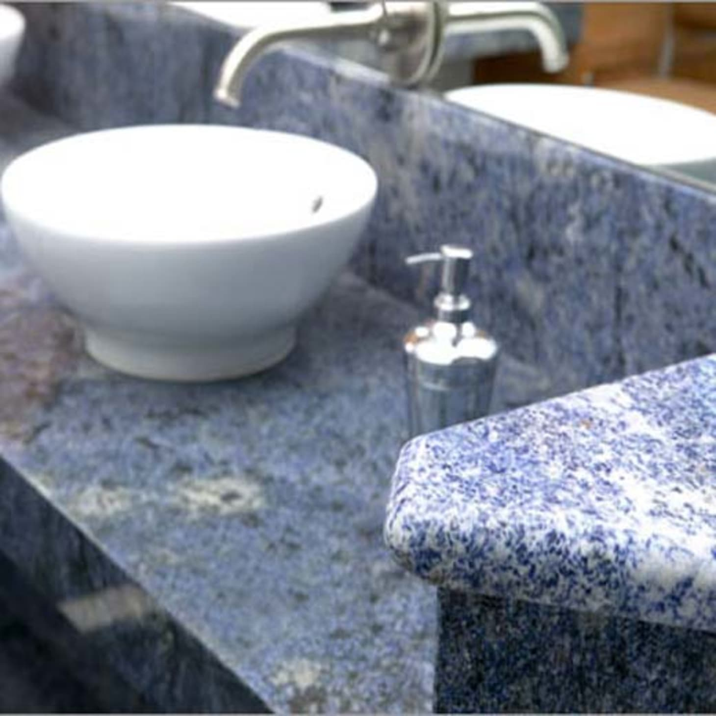 Considering Blue Bahia Granite? Let These Interiors Sway You