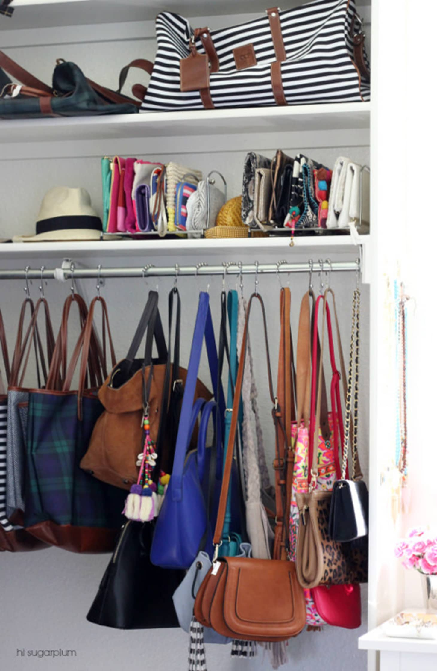 582c9ee1b4a9 Purse Storage Options to Buy or DIY | Apartment Therapy