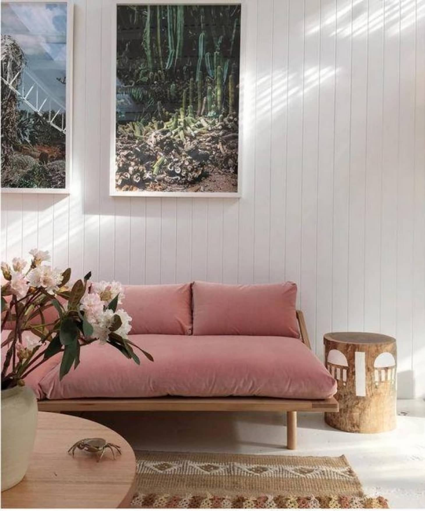 Amazing When Two Trends Collide 9 Beautiful Pink Velvet Sofas Interior Design Ideas Gentotthenellocom