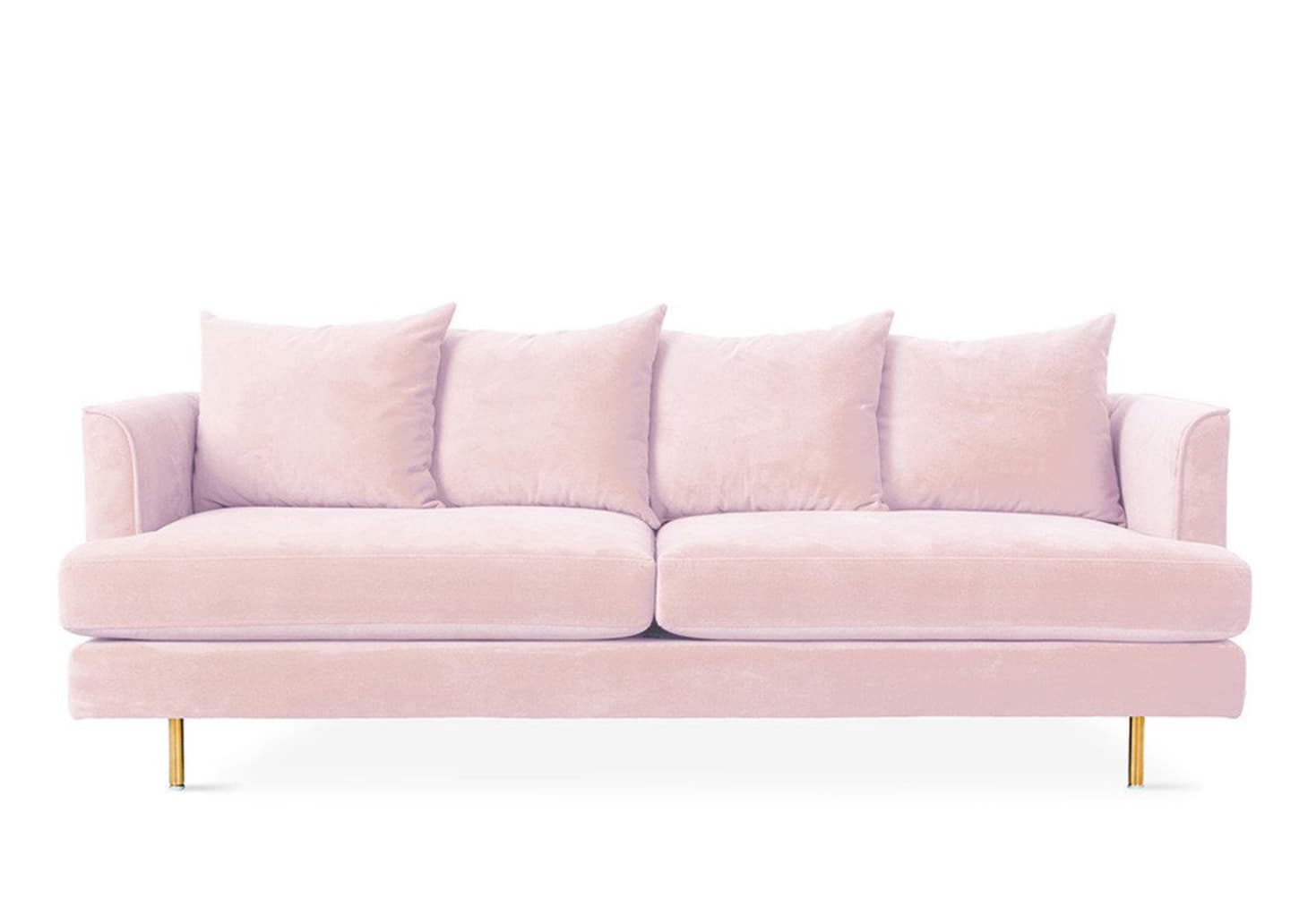 Magnificent When Two Trends Collide 9 Beautiful Pink Velvet Sofas Theyellowbook Wood Chair Design Ideas Theyellowbookinfo
