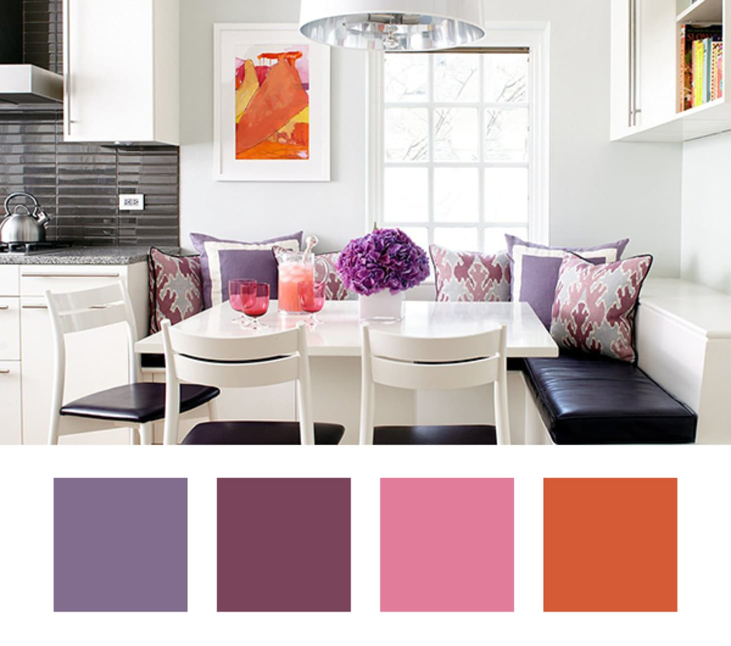 Decorating Ideas 6 Colors To Pair With Purple At Home