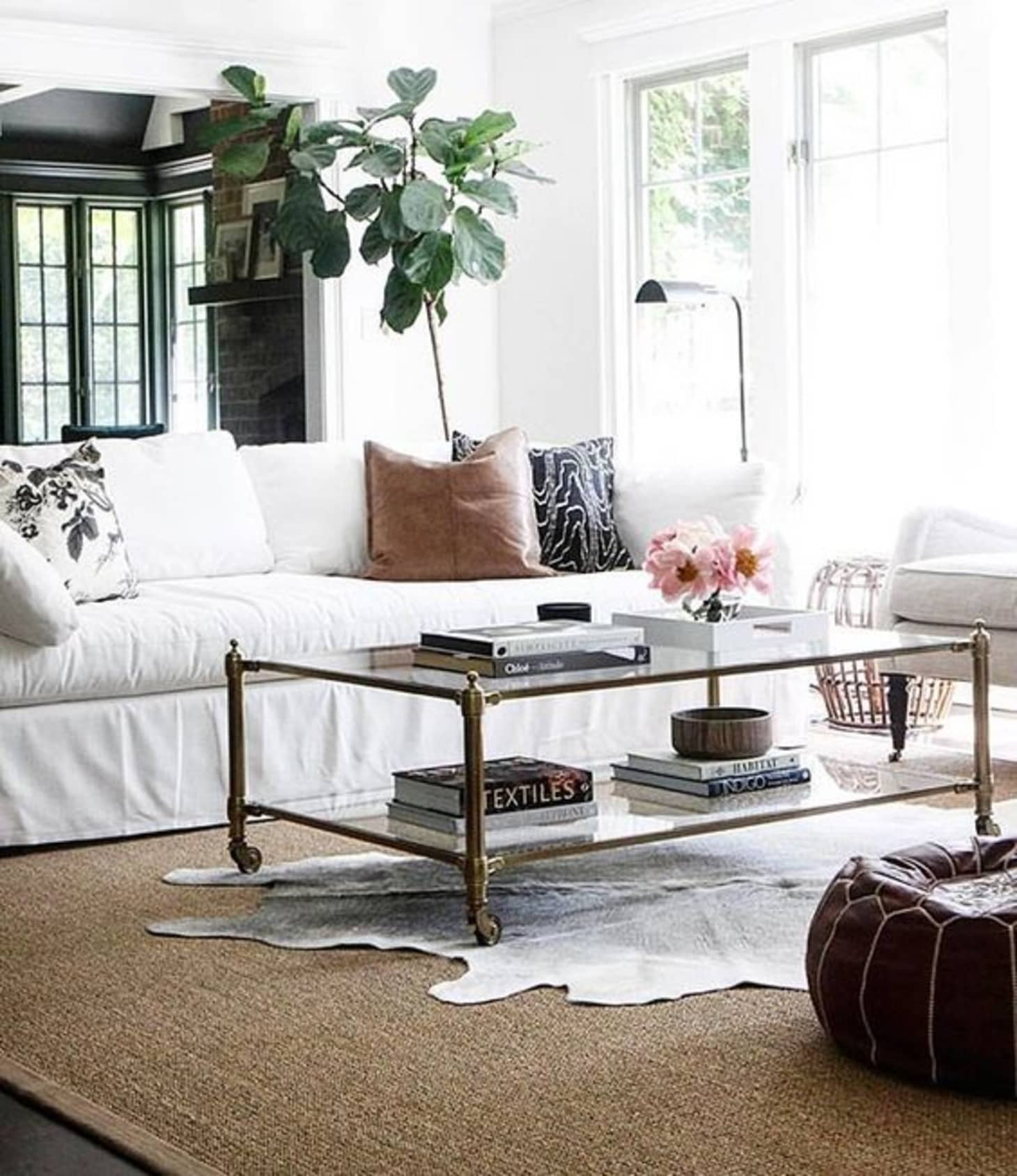 Rooms Featuring Cowhide Rugs (& Where to Get One For ...