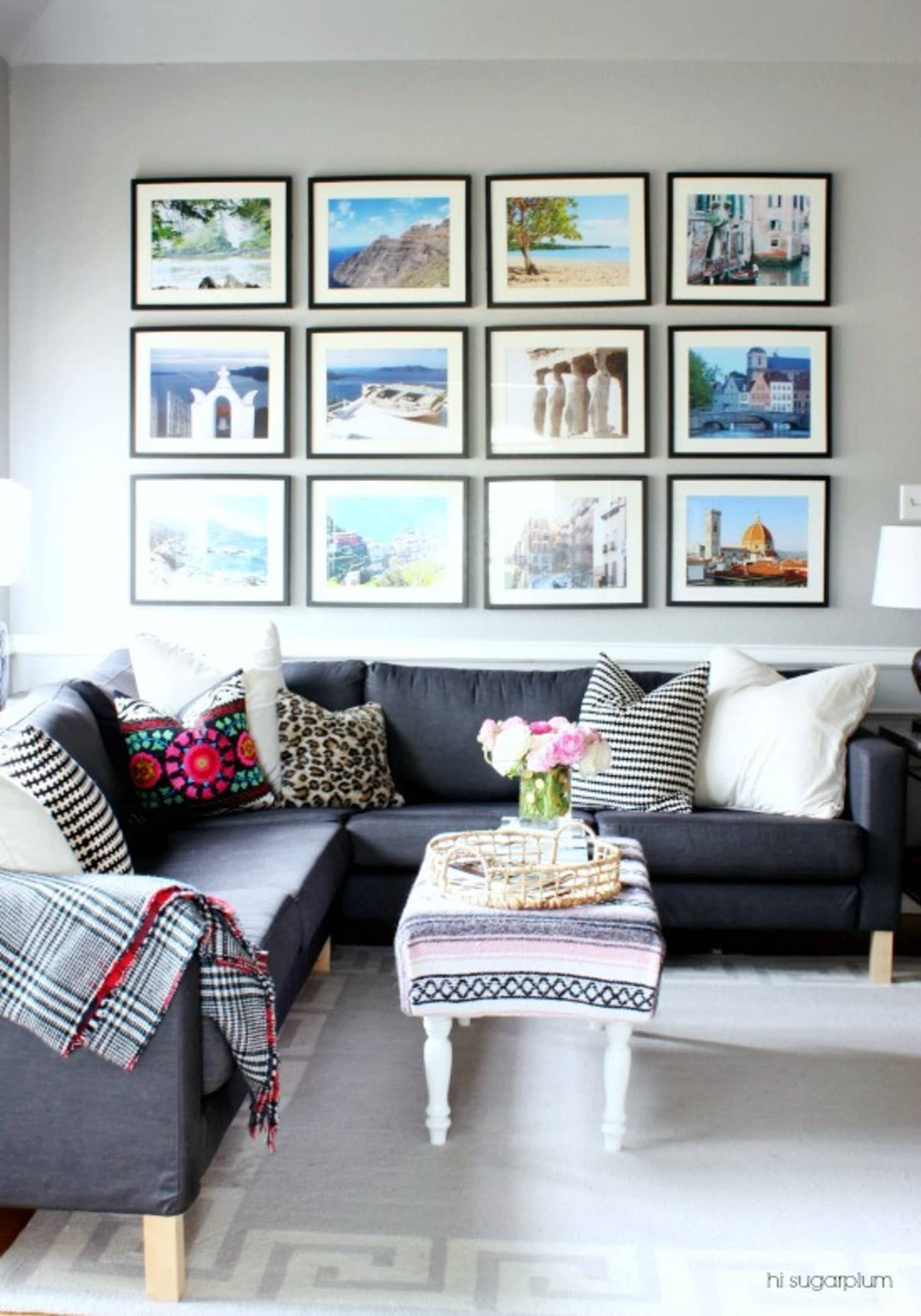 How To Create A Gallery Wall With A Modern Twist Apartment