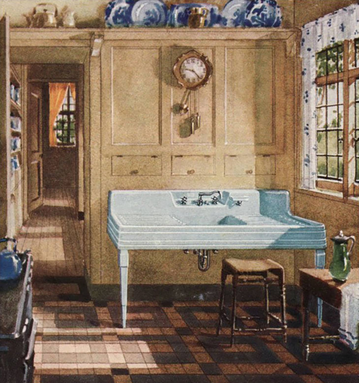 A Brief History Of Kitchen Design From 1900 To 1920