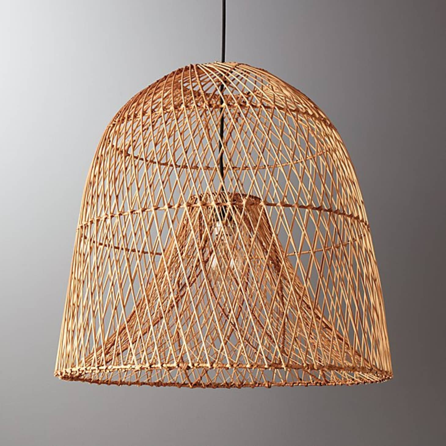 Currently Obsessed Rattan Amp Wicker Pendant Lights