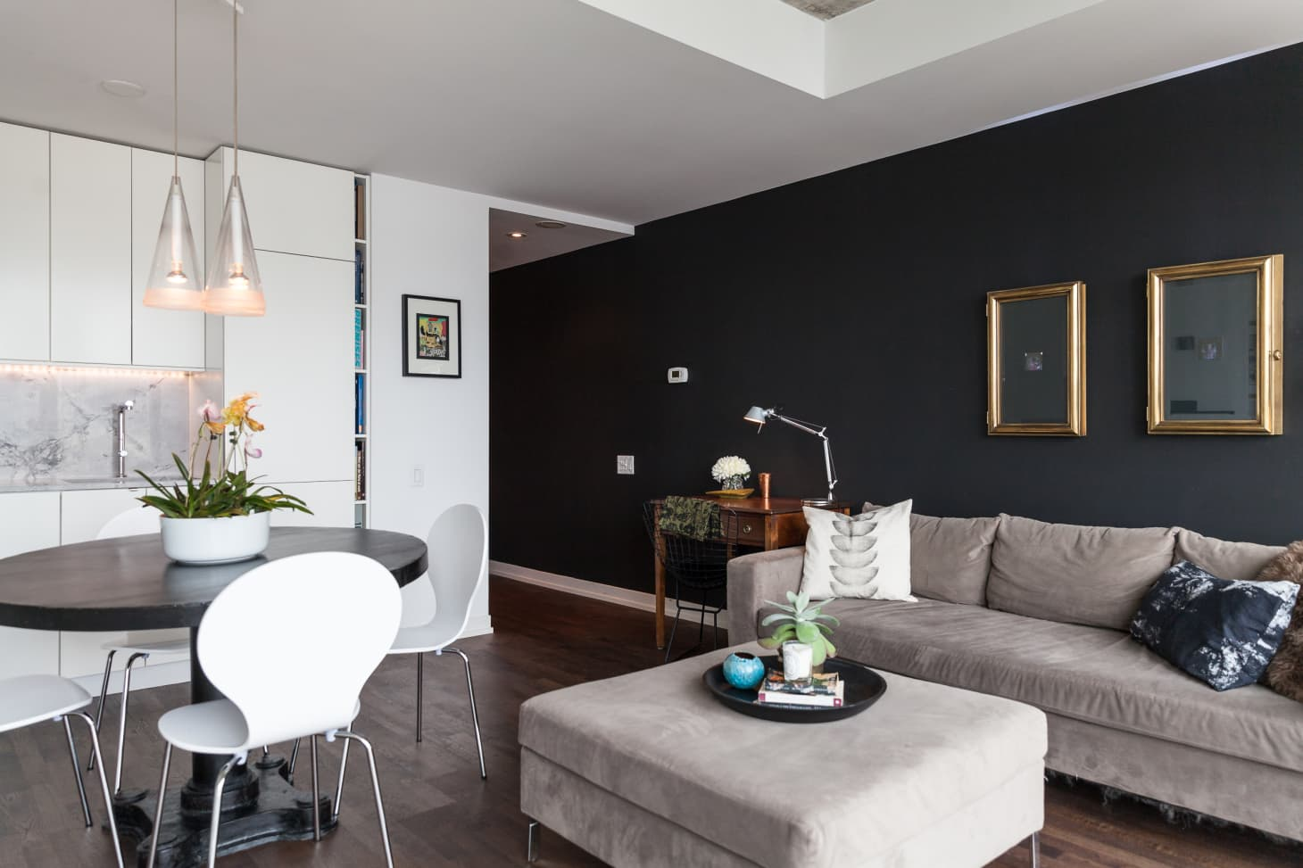 Why Black Walls Are An Interior Design Tool You Should Use