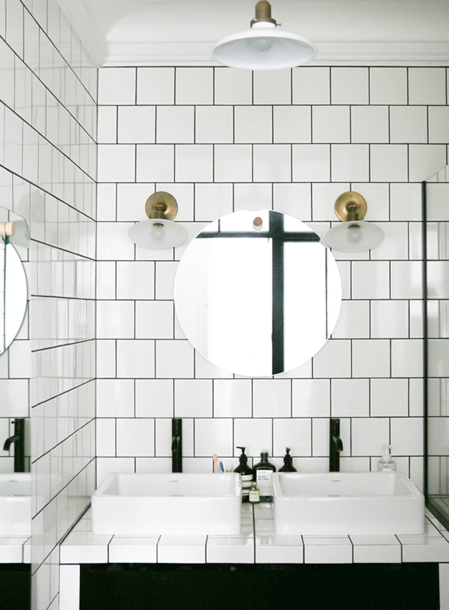 10x10 Bathroom: White Square Tiles: A Great Alternative To Subway Tile
