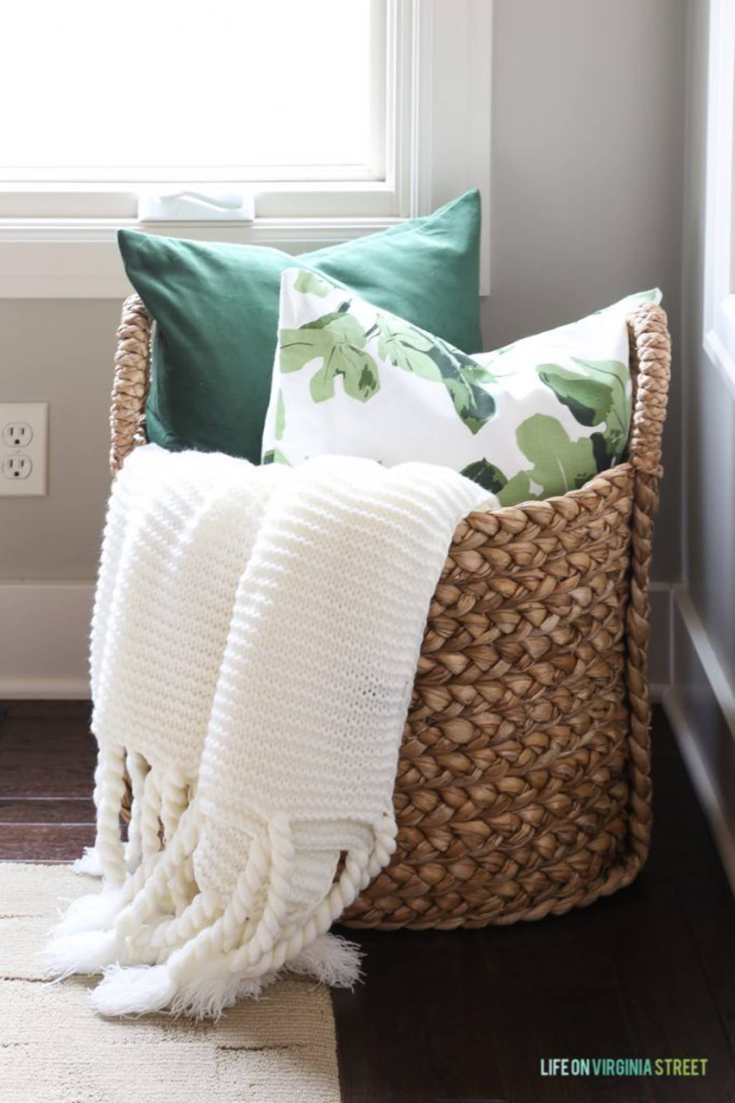 What To Do With All Those Throw Pillows When It S Time For Bed