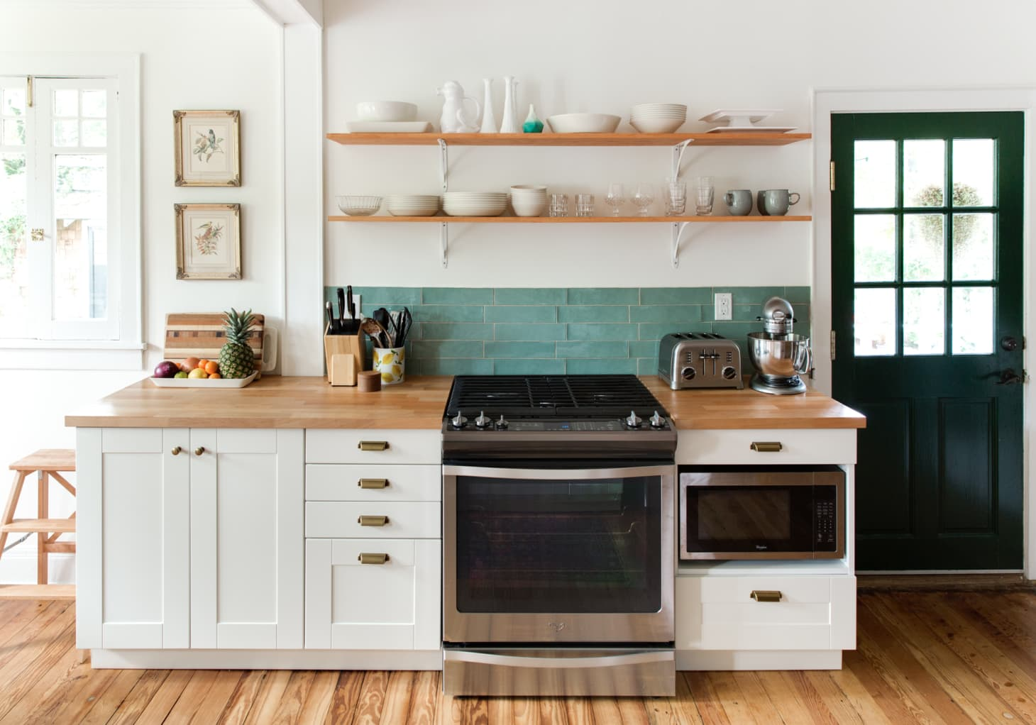 Open Kitchen Shelving Advice & Secrets | Apartment Therapy