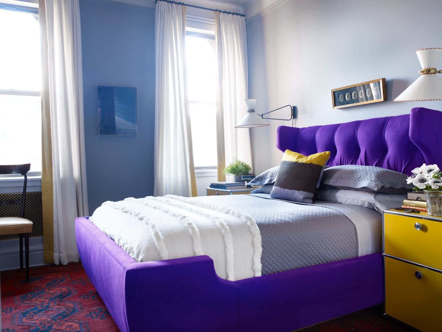 Rooms That Expertly Pair Complementary Colors Apartment