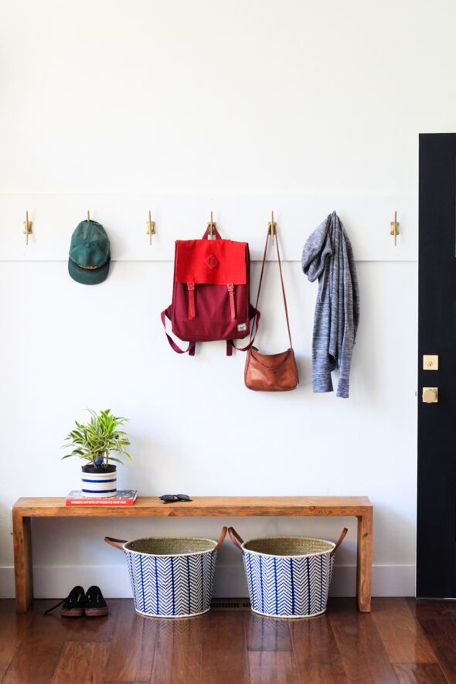 clutter-free entryway storage ideas   apartment therapy