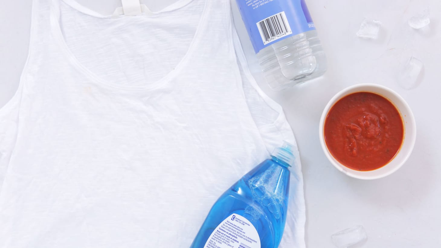 How to Remove Tomato Sauce Stains from Clothes: 3 Home Hacks, Tested