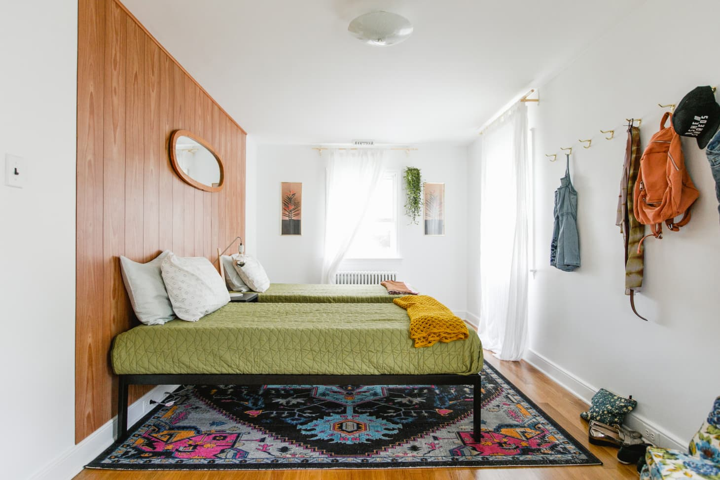 Beautiful Bedrooms Without Headboards Apartment Therapy