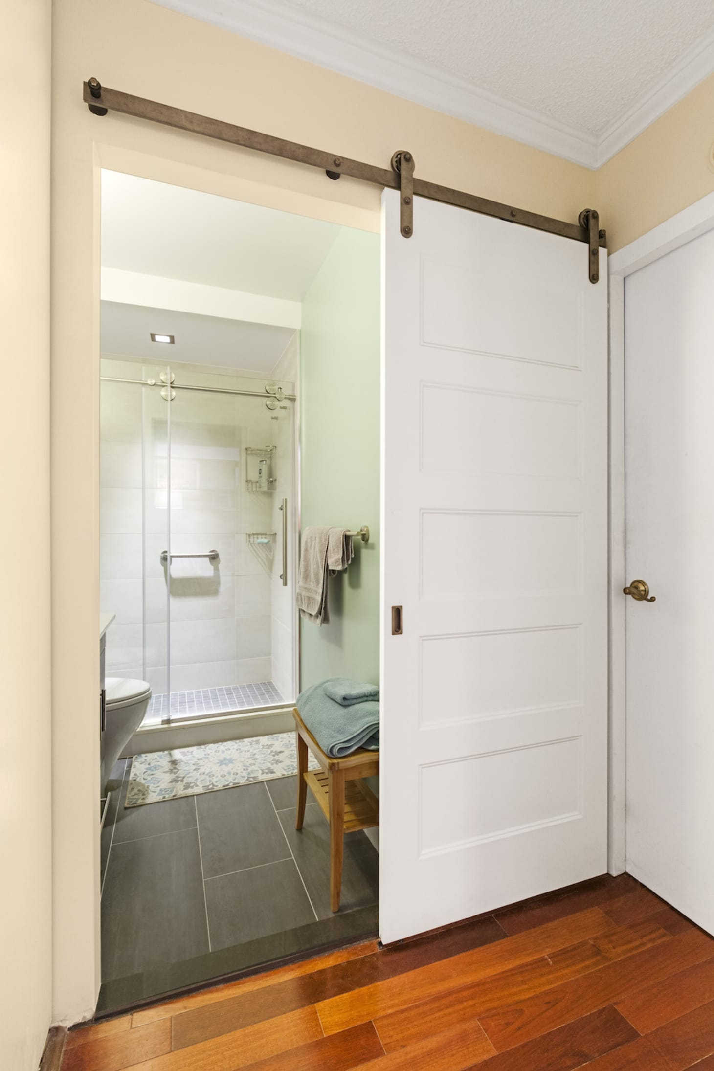 A Bathroom Remodel in a Small NYC Apartment | Apartment ... on Small Apartment Bathroom  id=98890