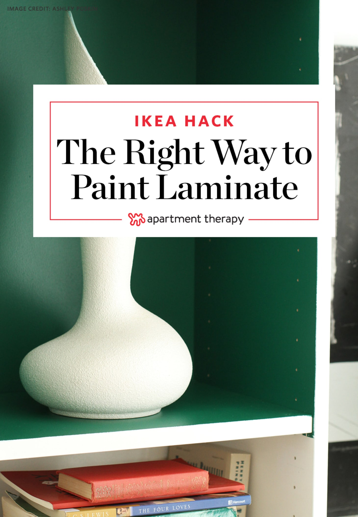 How to Paint Laminate IKEA Furniture the Right Way   Apartment Therapy