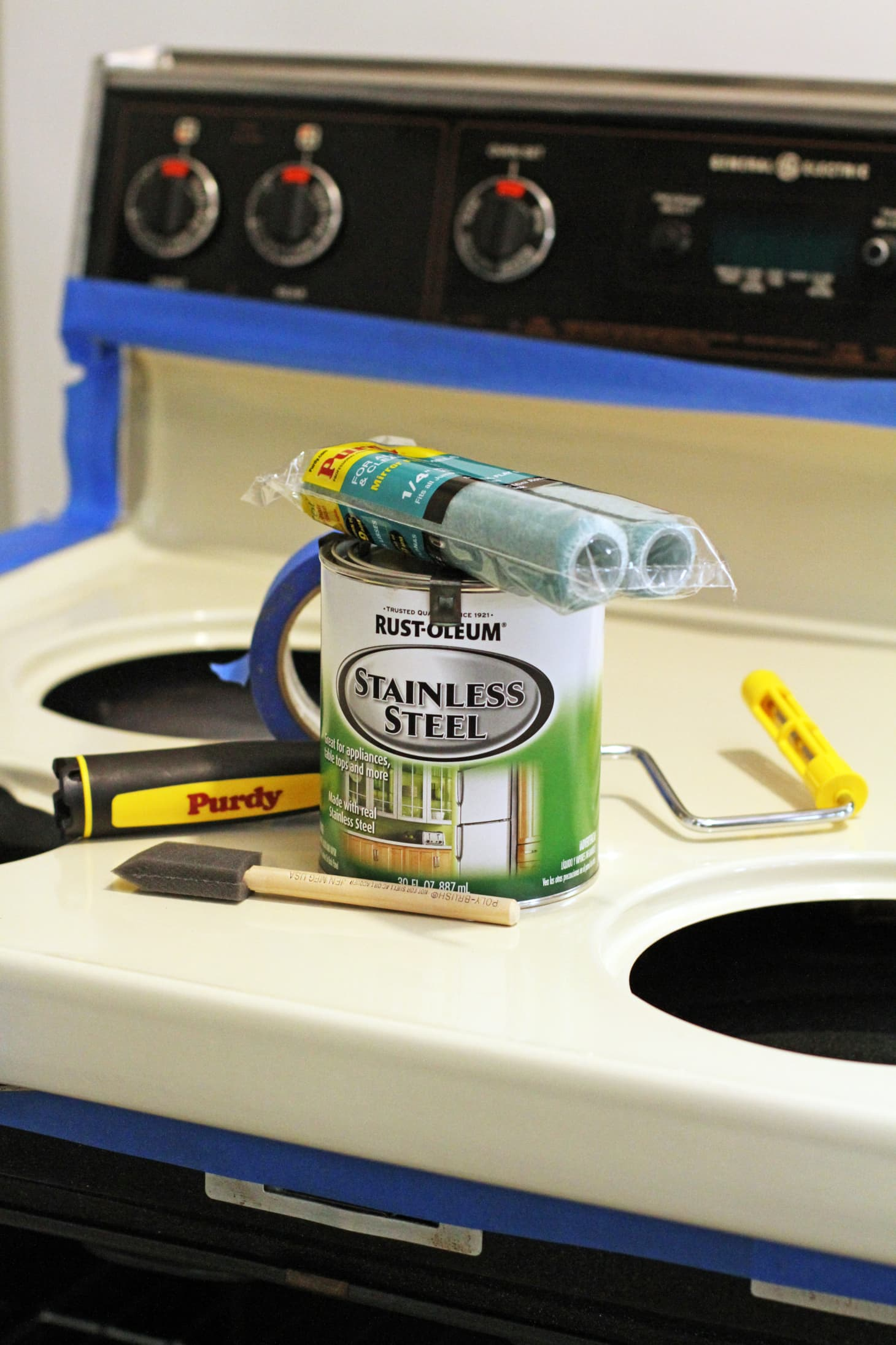 Rust-Oleum Stainless Steel Paint: Does it Work? | Apartment Therapy