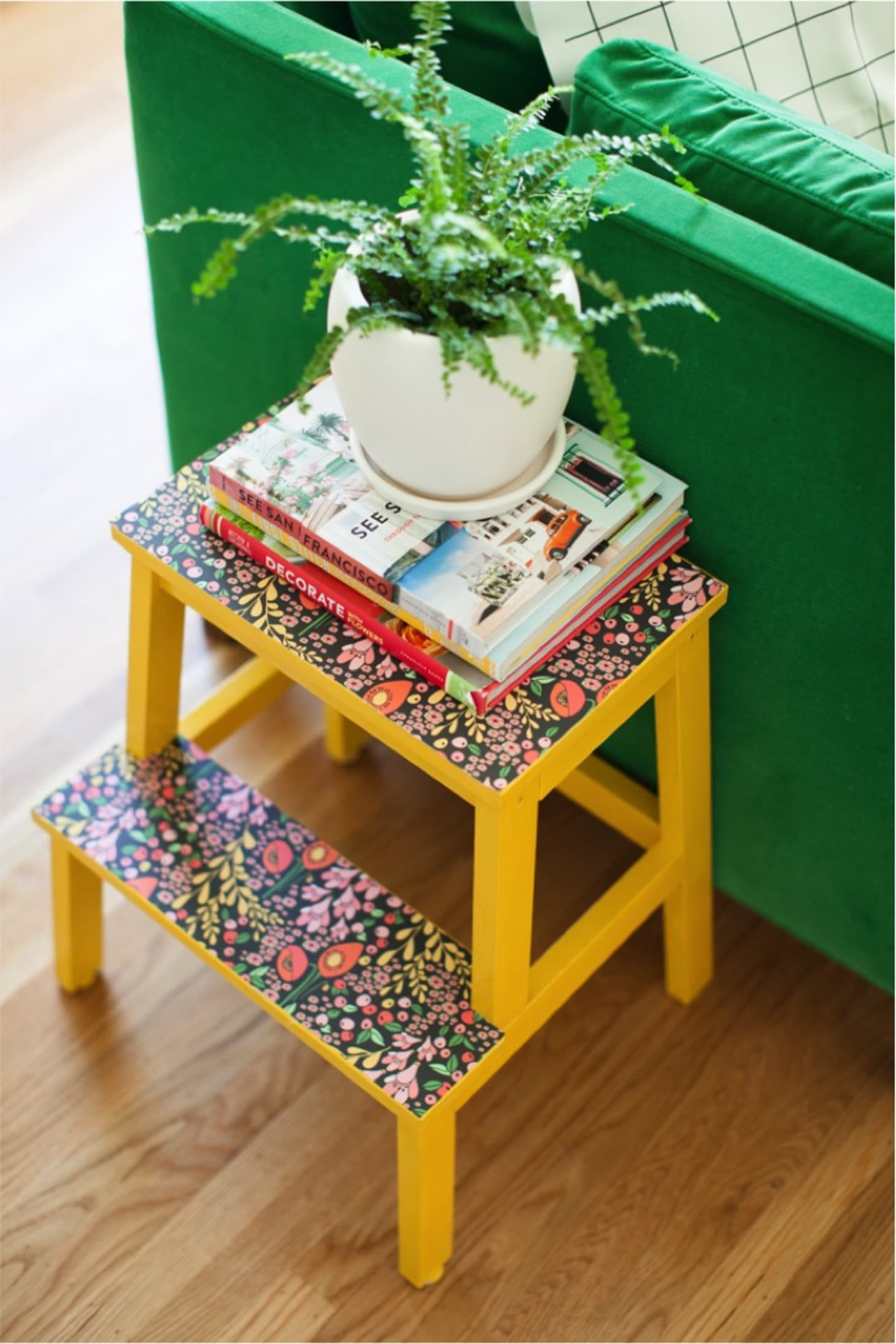 Strange Bekvam Step Stool Hacks And Makeovers Apartment Therapy Machost Co Dining Chair Design Ideas Machostcouk