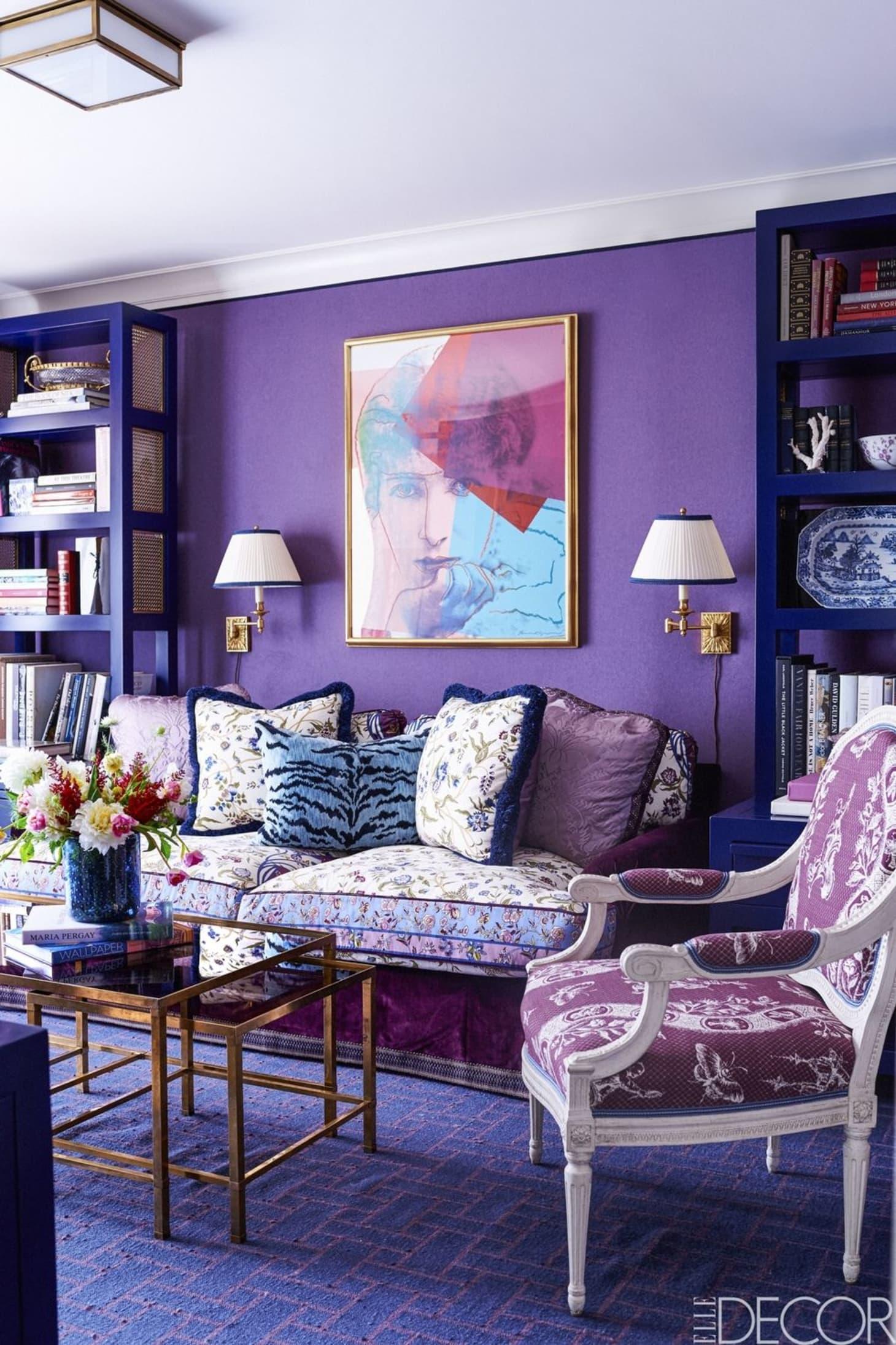. Best Pantone 2018 Ultra Violet Rooms Interior Design   Apartment Therapy