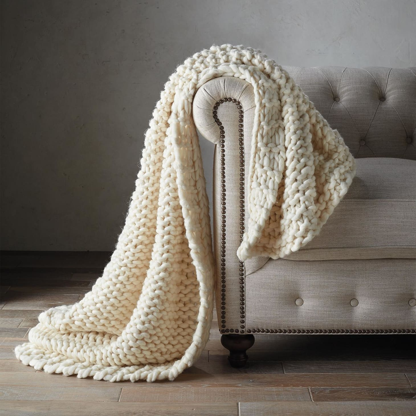 Where to Buy Chunky Knit Blanket - Best Deals | Apartment Therapy