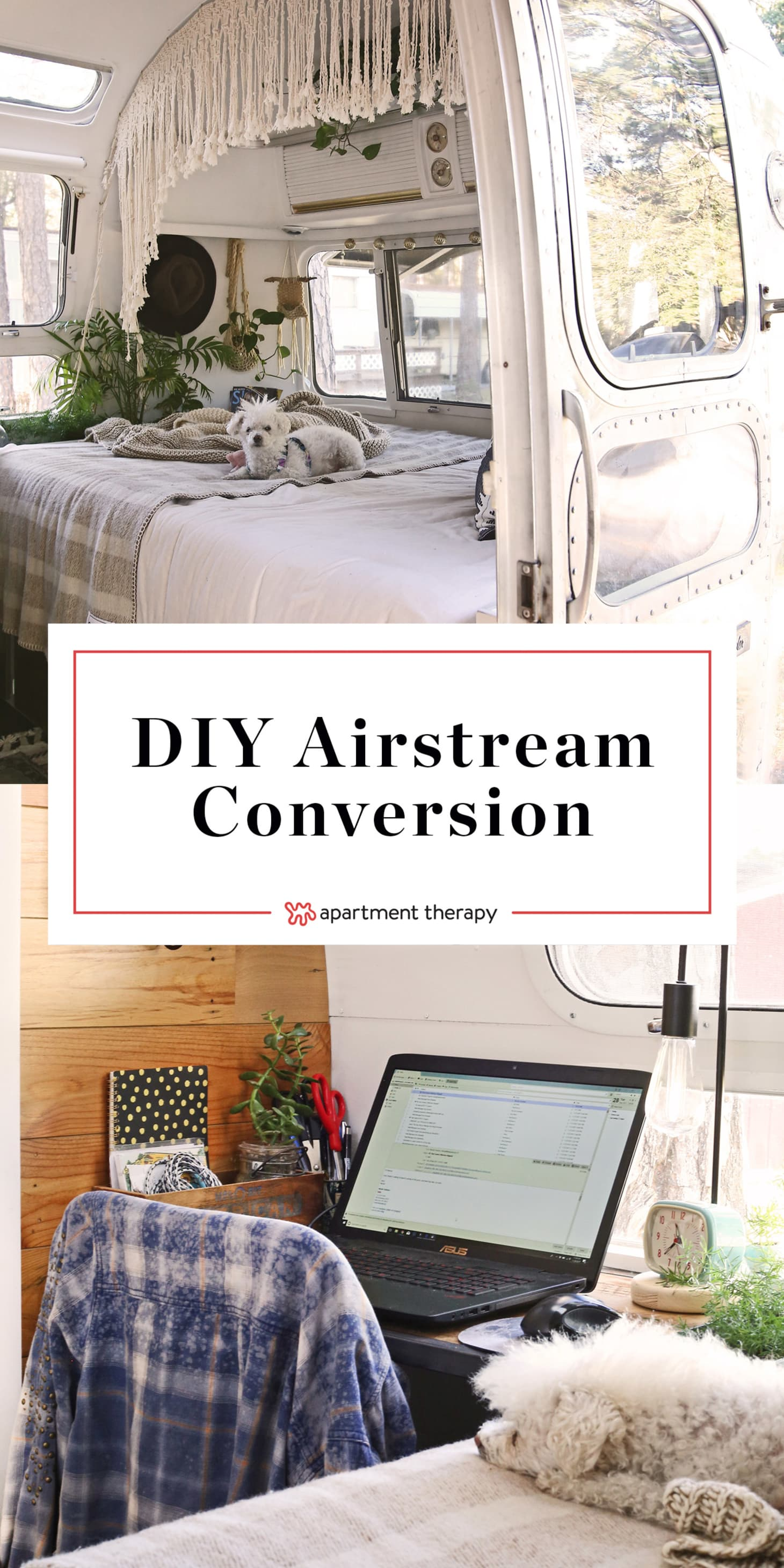 House Tour: An Updated & Remodeled Airstream Trailer | Apartment Therapy
