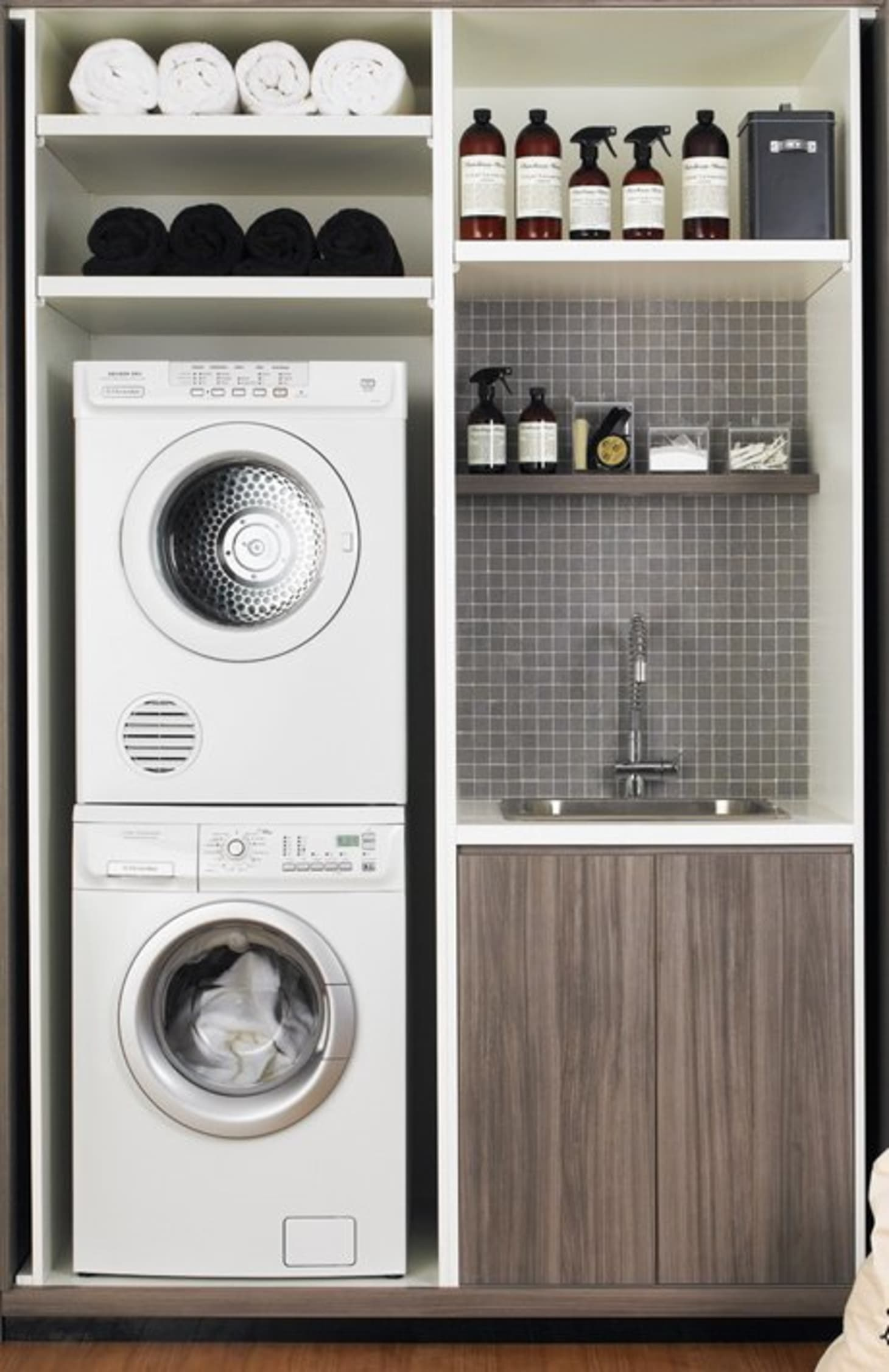 Small Laundry Room Remodeling Ideas | Apartment Therapy