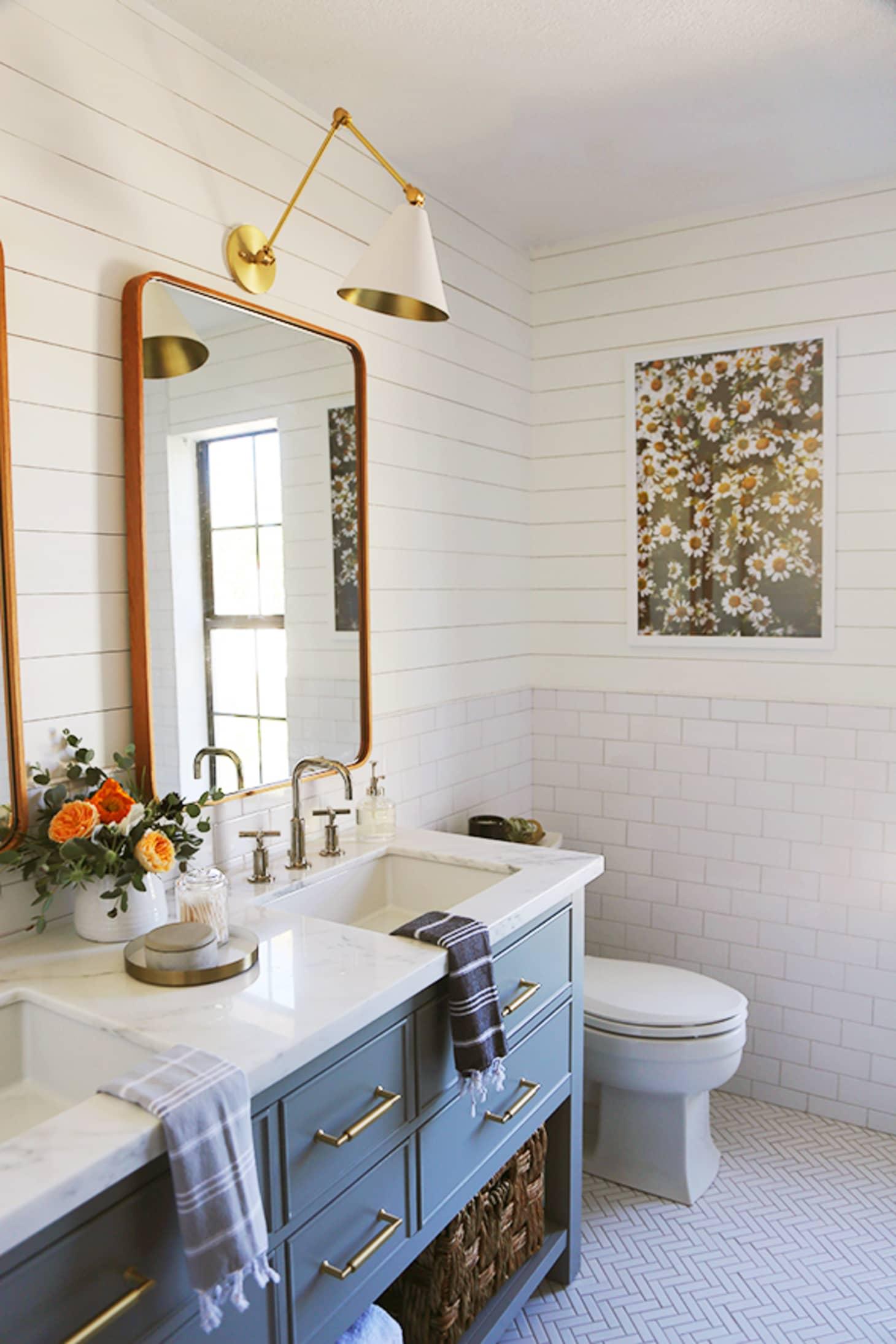 Sensational 50 Best Bathroom Design Ideas Apartment Therapy Download Free Architecture Designs Jebrpmadebymaigaardcom