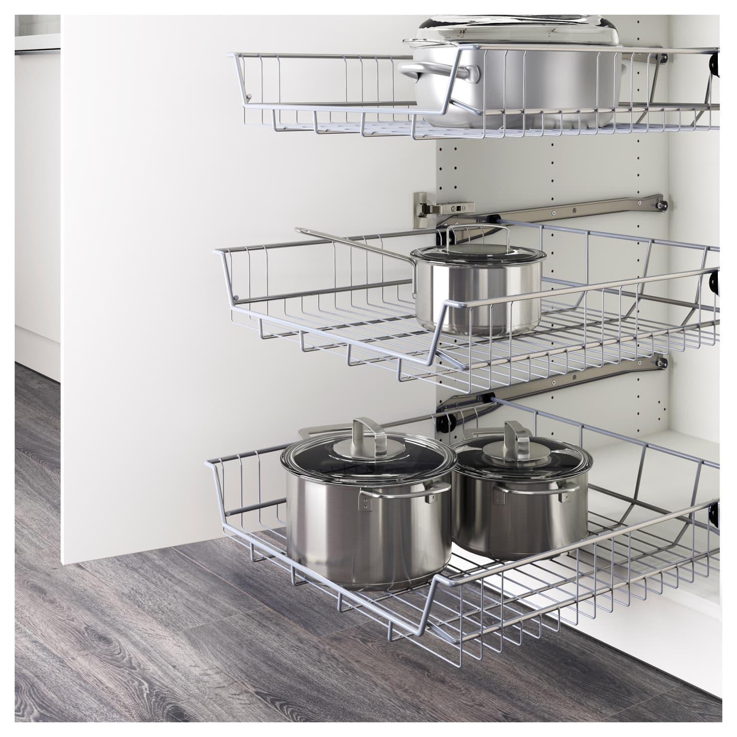 Pleasant The Best Ikea Kitchen Cabinet Organizers Apartment Therapy Interior Design Ideas Tzicisoteloinfo
