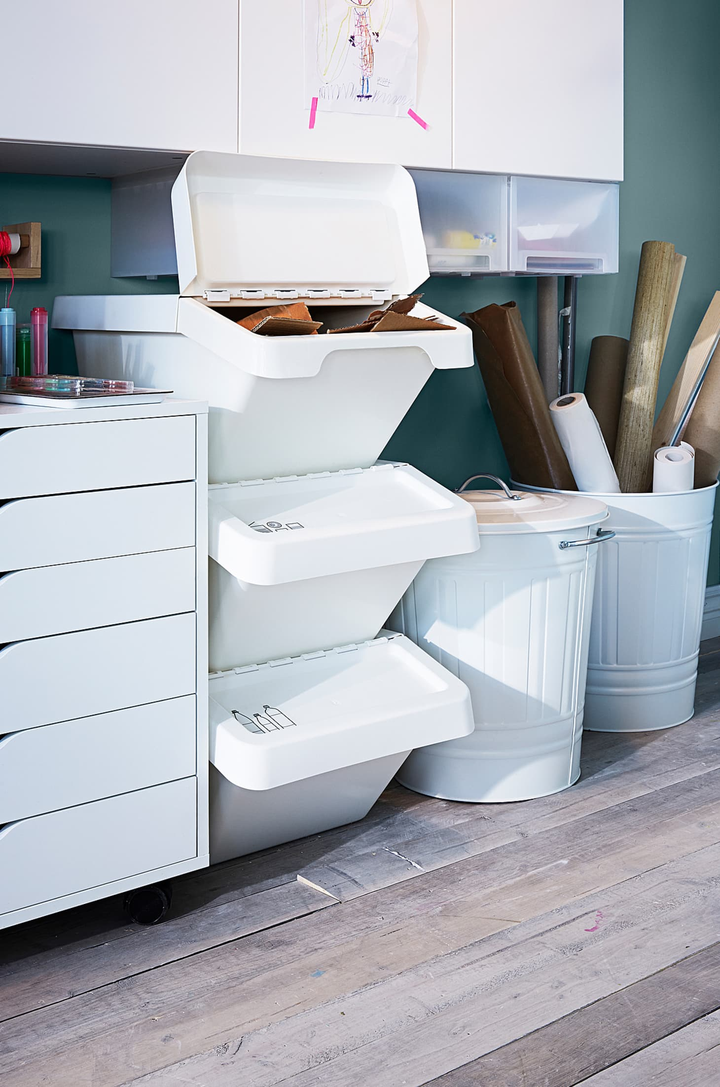 Ikea Recycling Bins And Green Initiatives Apartment Therapy