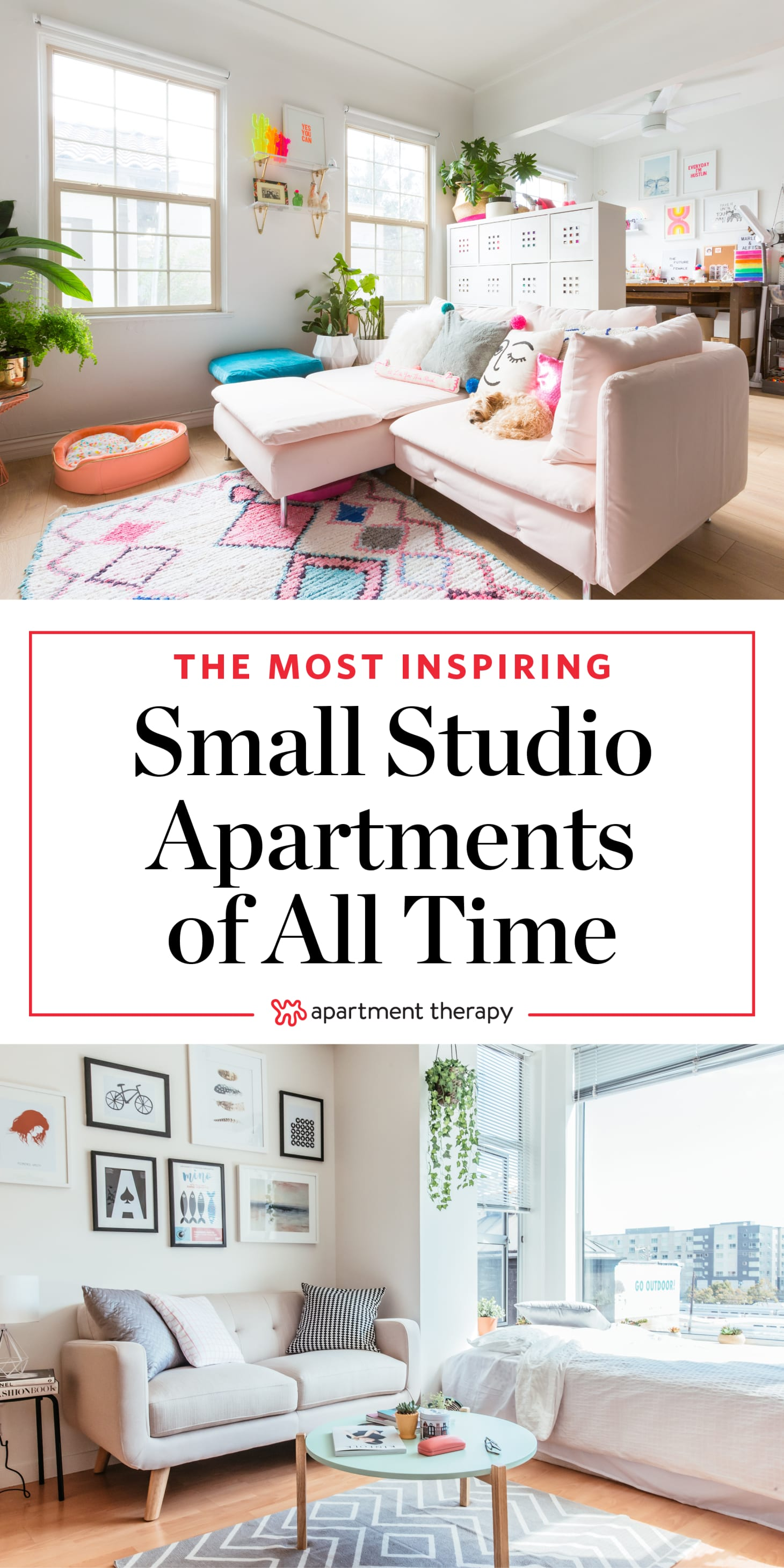 Studio Apartments Design - Small Space Ideas | Apartment Therapy