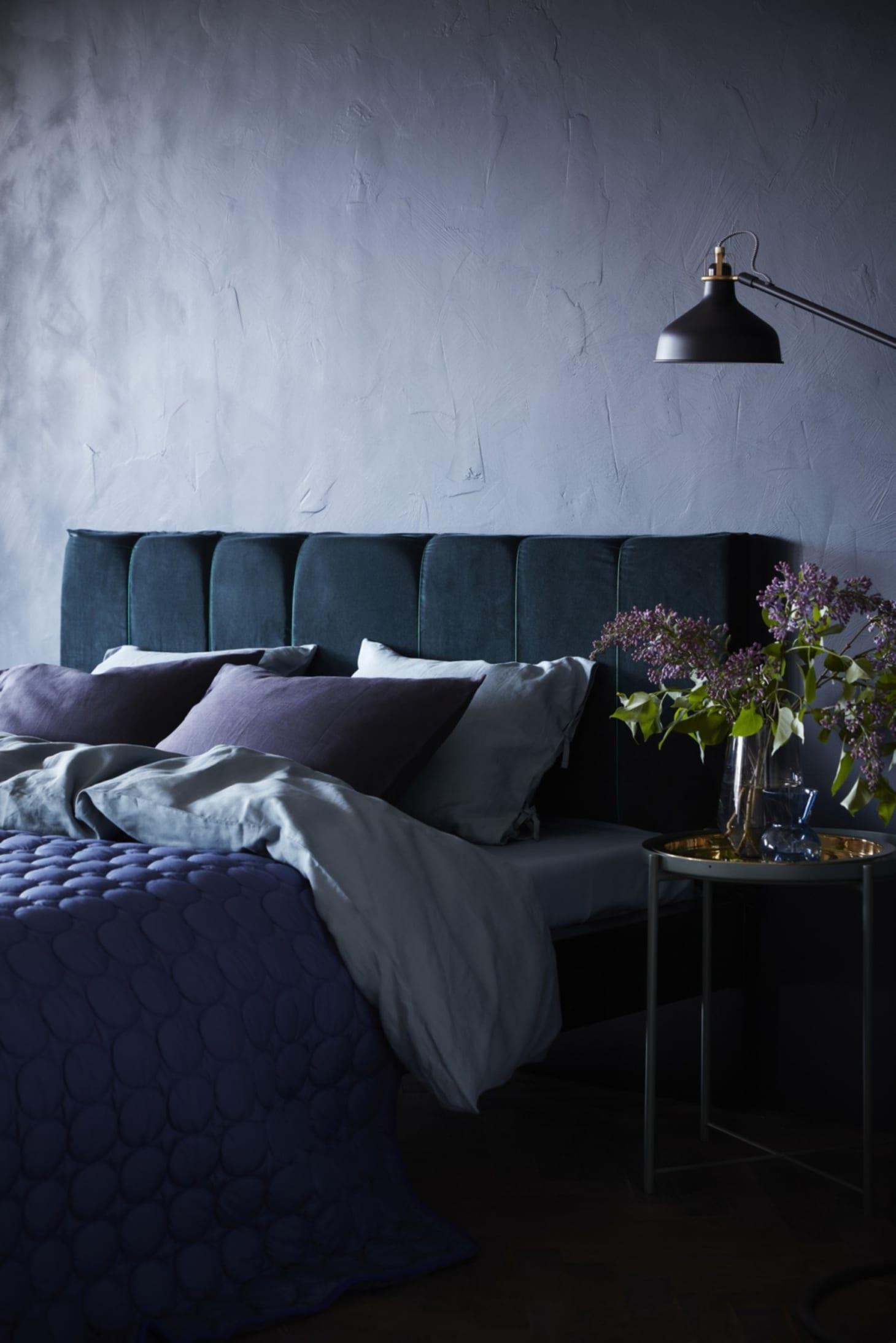 Ikea Bed Frame Hacks Diy Headboard Projects Apartment