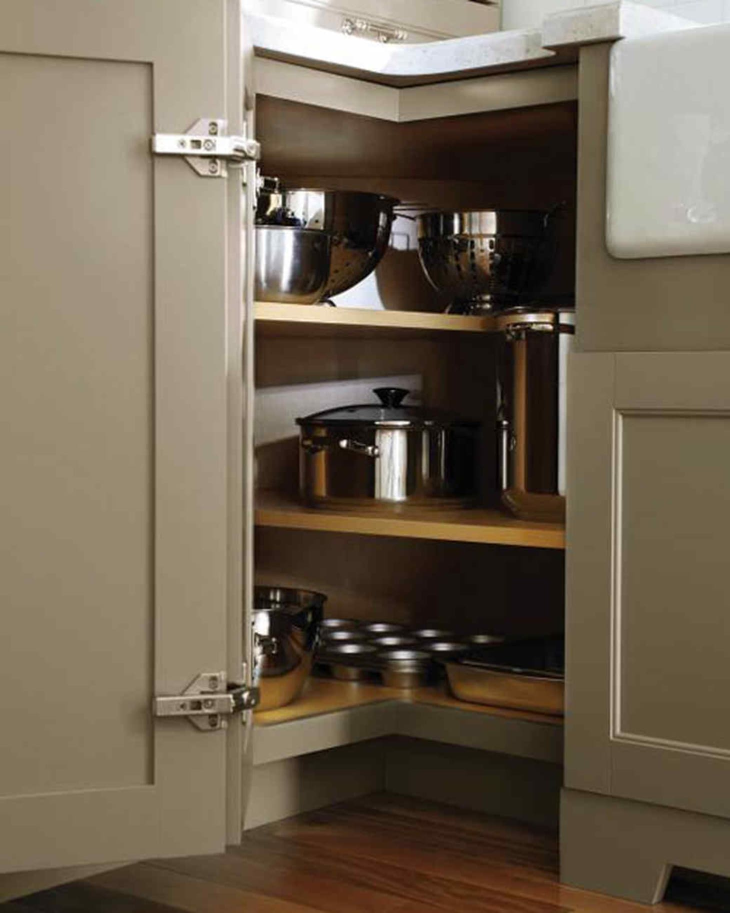 title | Corner Kitchen Cabinet