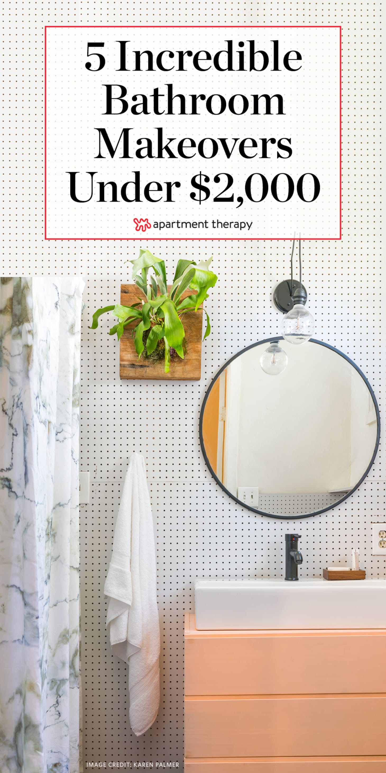 Bathroom Ideas On A Budget - Before After | Apartment Therapy