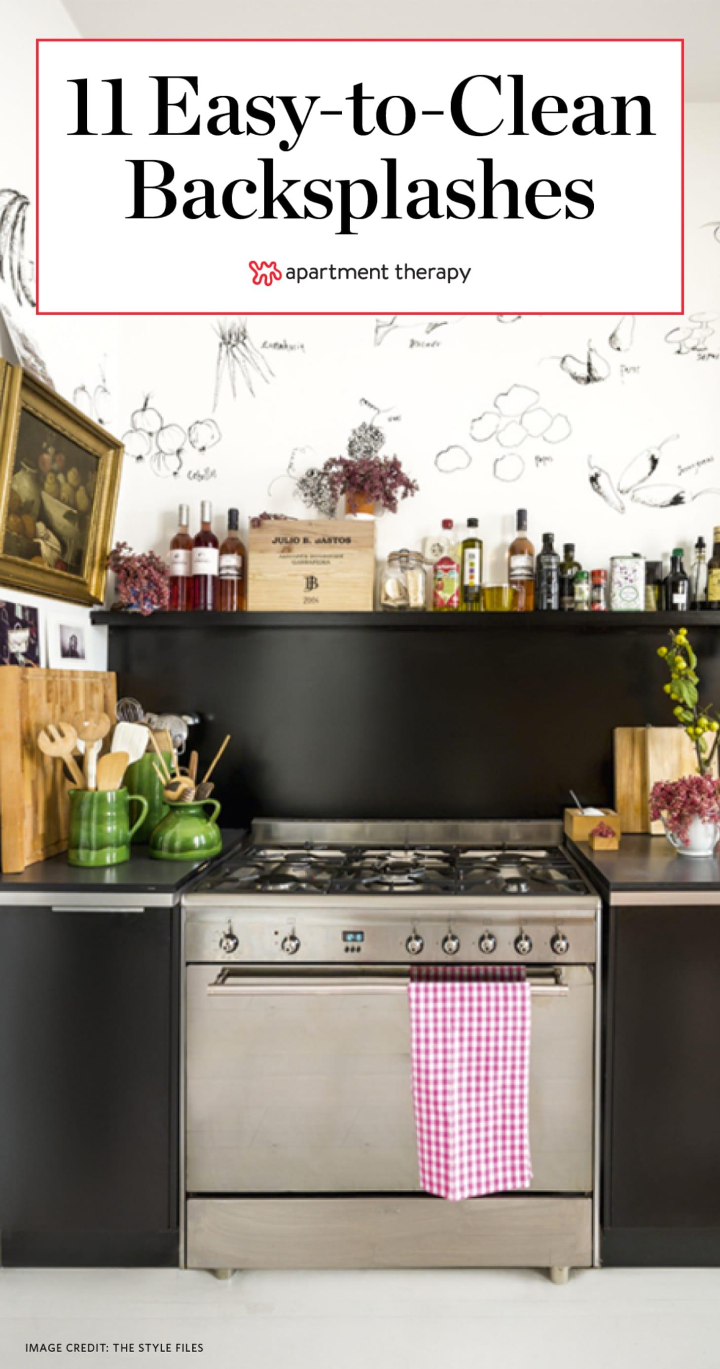 Astounding Kitchen Backsplash Ideas Easy To Clean Apartment Therapy Download Free Architecture Designs Xaembritishbridgeorg