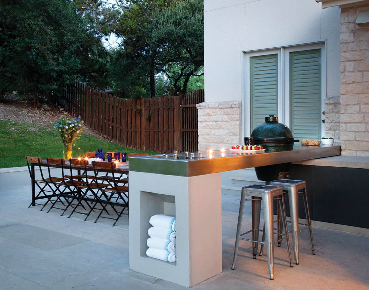 Outdoor Kitchen Ideas & Inspiration   Apartment Therapy