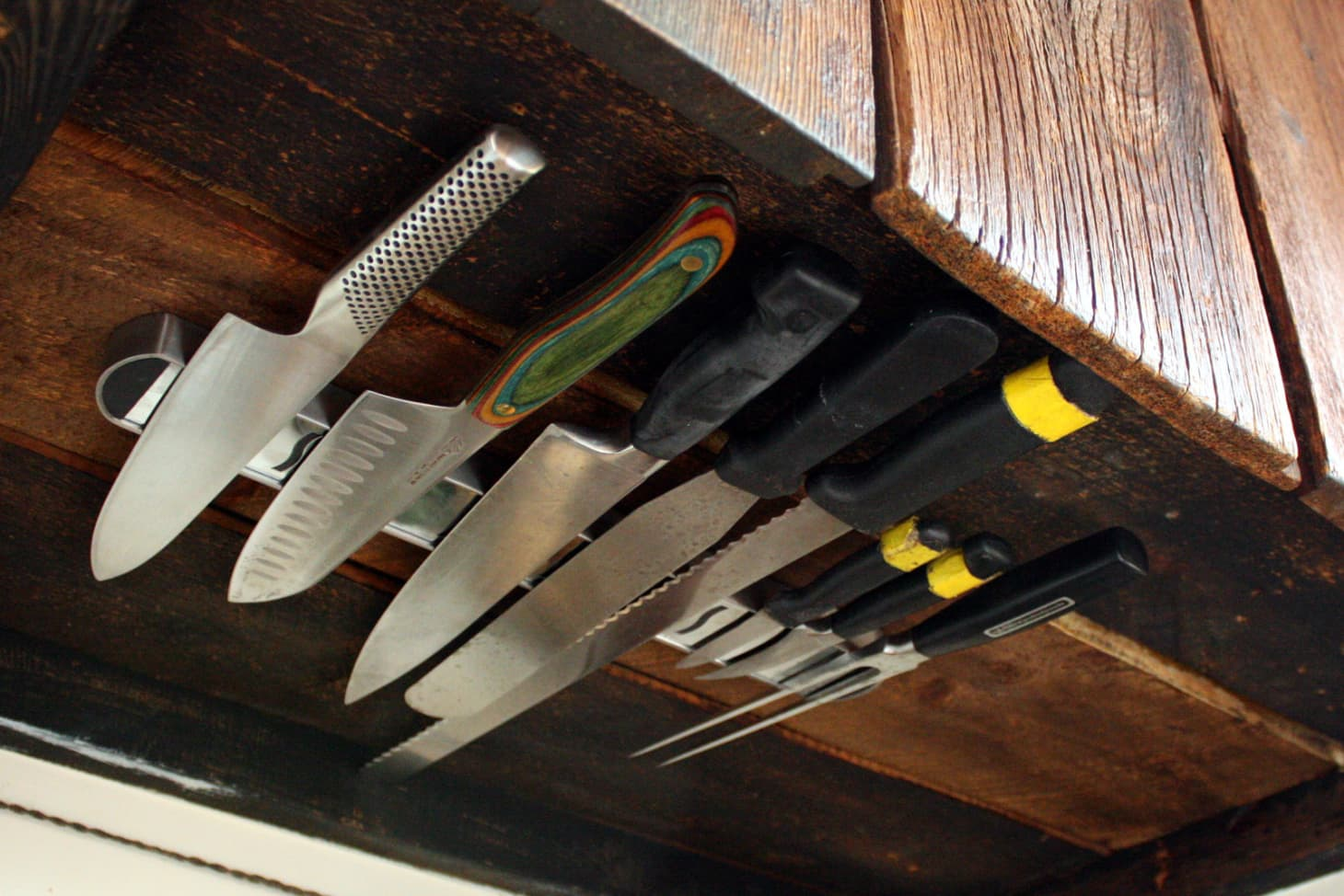 Magnetic Knife Holder Garage Toy Tool Storage Ideas Apartment