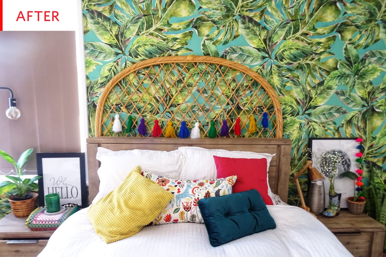 Before & After: This Bedroom Goes Even More Boho | Apartment ...