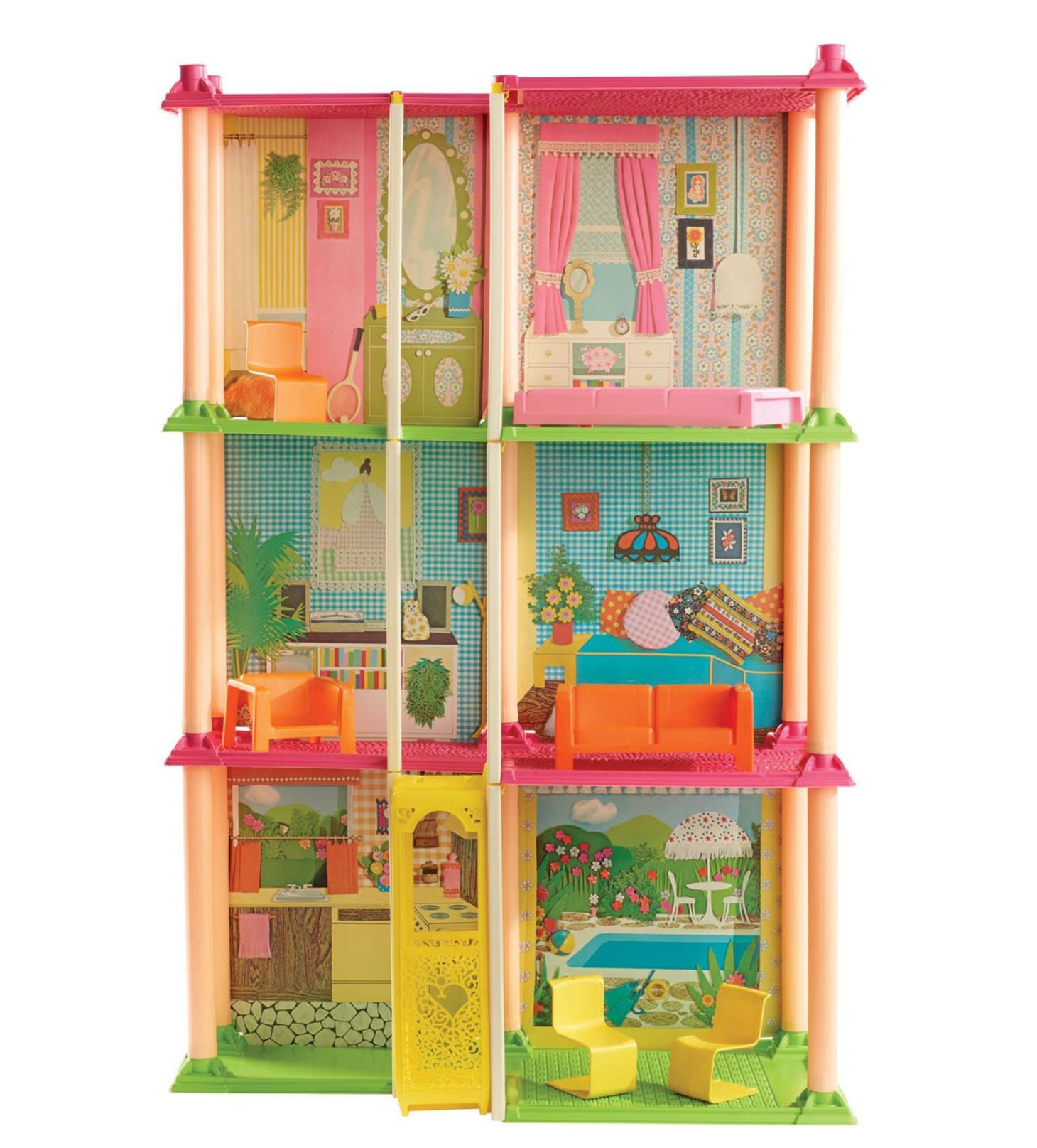 Astounding Barbie Dreamhouse Design History Architect Review Download Free Architecture Designs Rallybritishbridgeorg