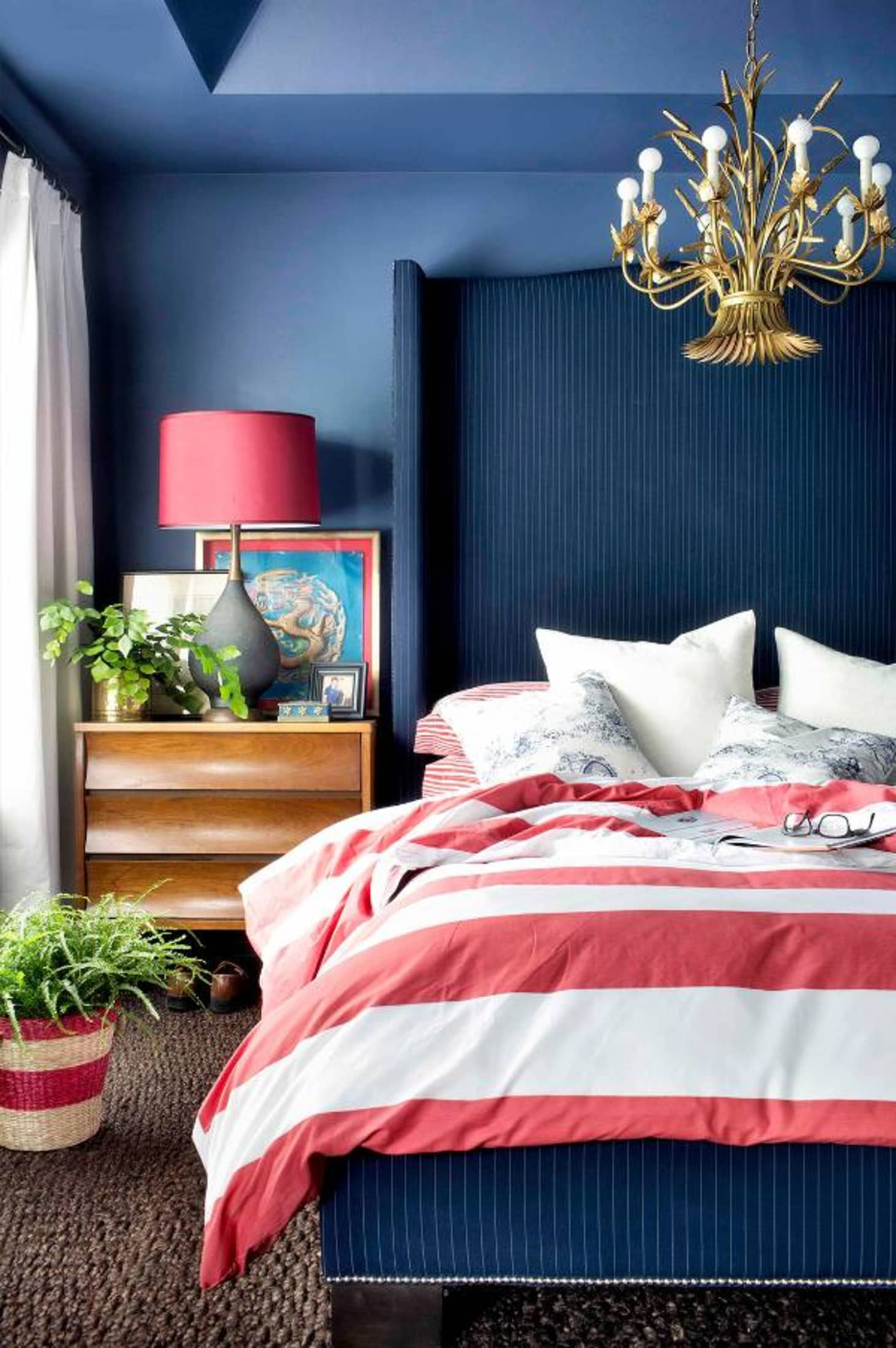 Red and Blue Room Design Ideas - Red and Blue Decor ...