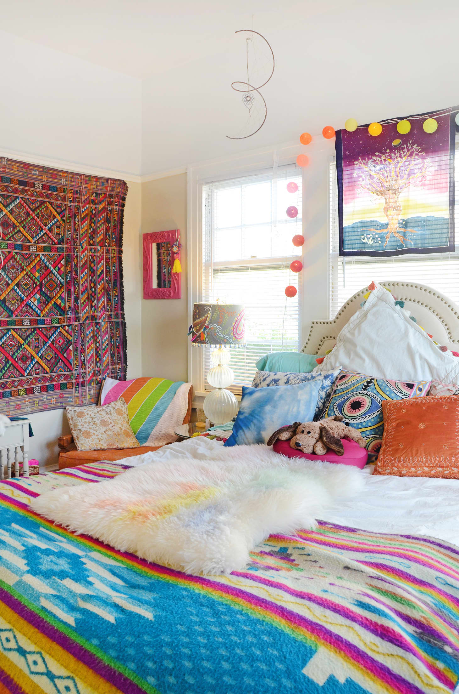 exciting bedroom style bohemian bedding | Bohemian Design Trends - Bedroom Decor Ideas | Apartment ...