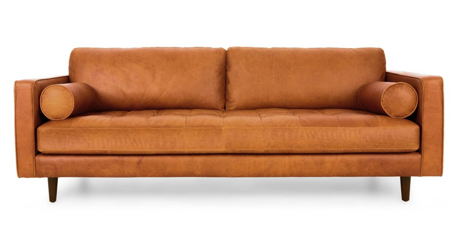 Magnificent Tan Leather Sofa Trend Caramel Leather Sofa Apartment Pabps2019 Chair Design Images Pabps2019Com