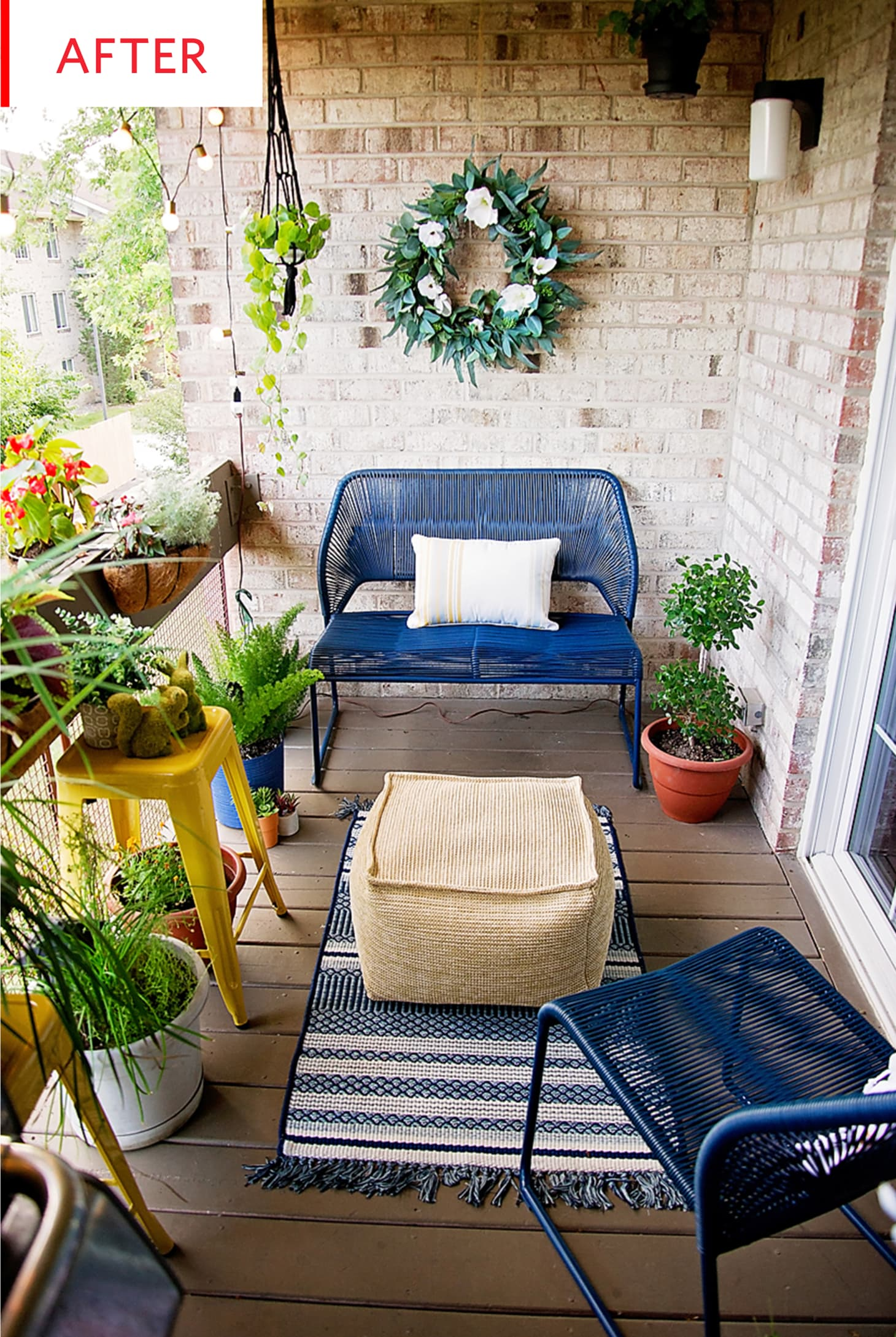 . Small Balcony Outdoor Seating Area Design Photos   Apartment Therapy