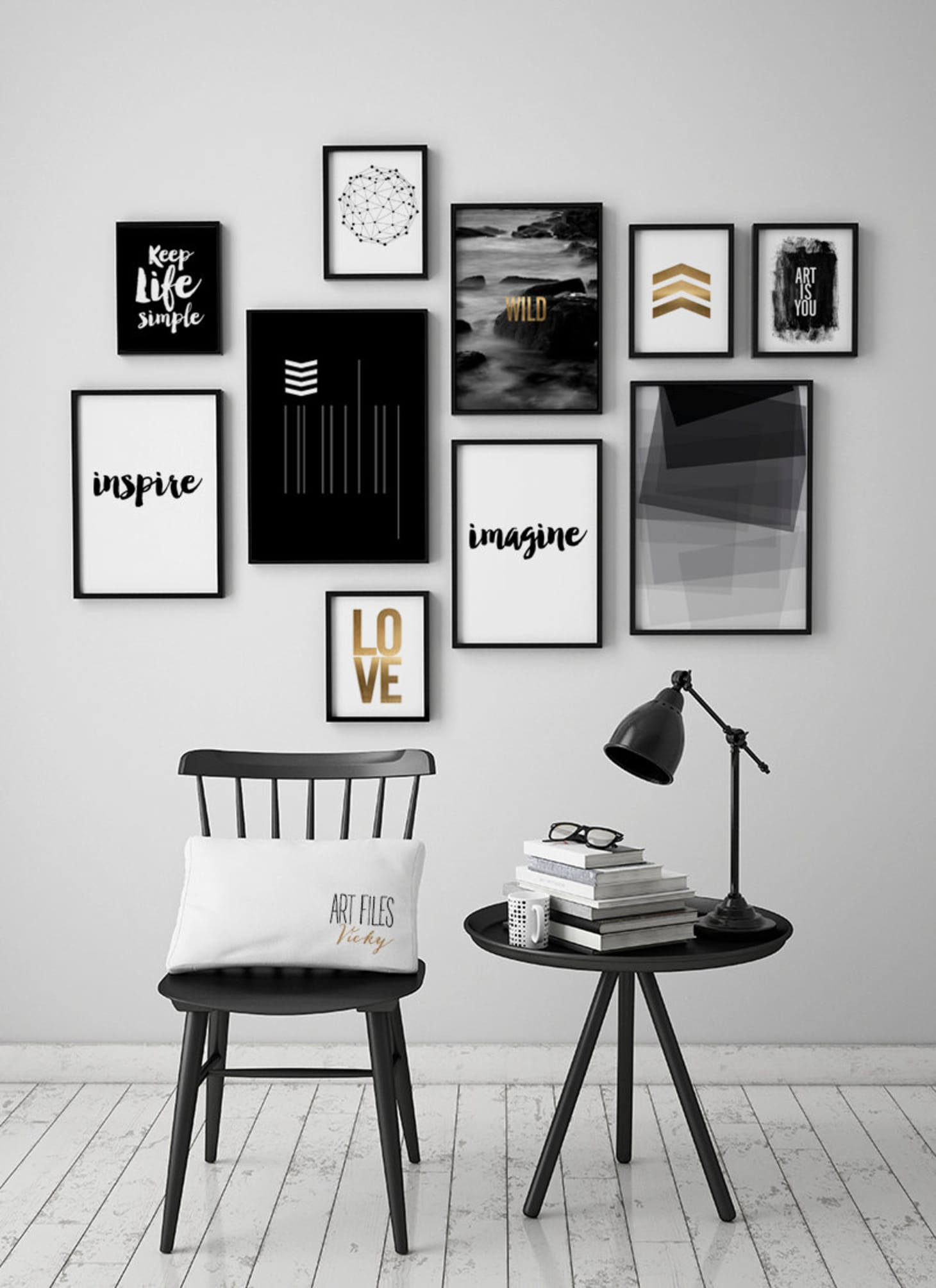 Pleasant Black And White Design Ideas Black And White Decor Short Links Chair Design For Home Short Linksinfo
