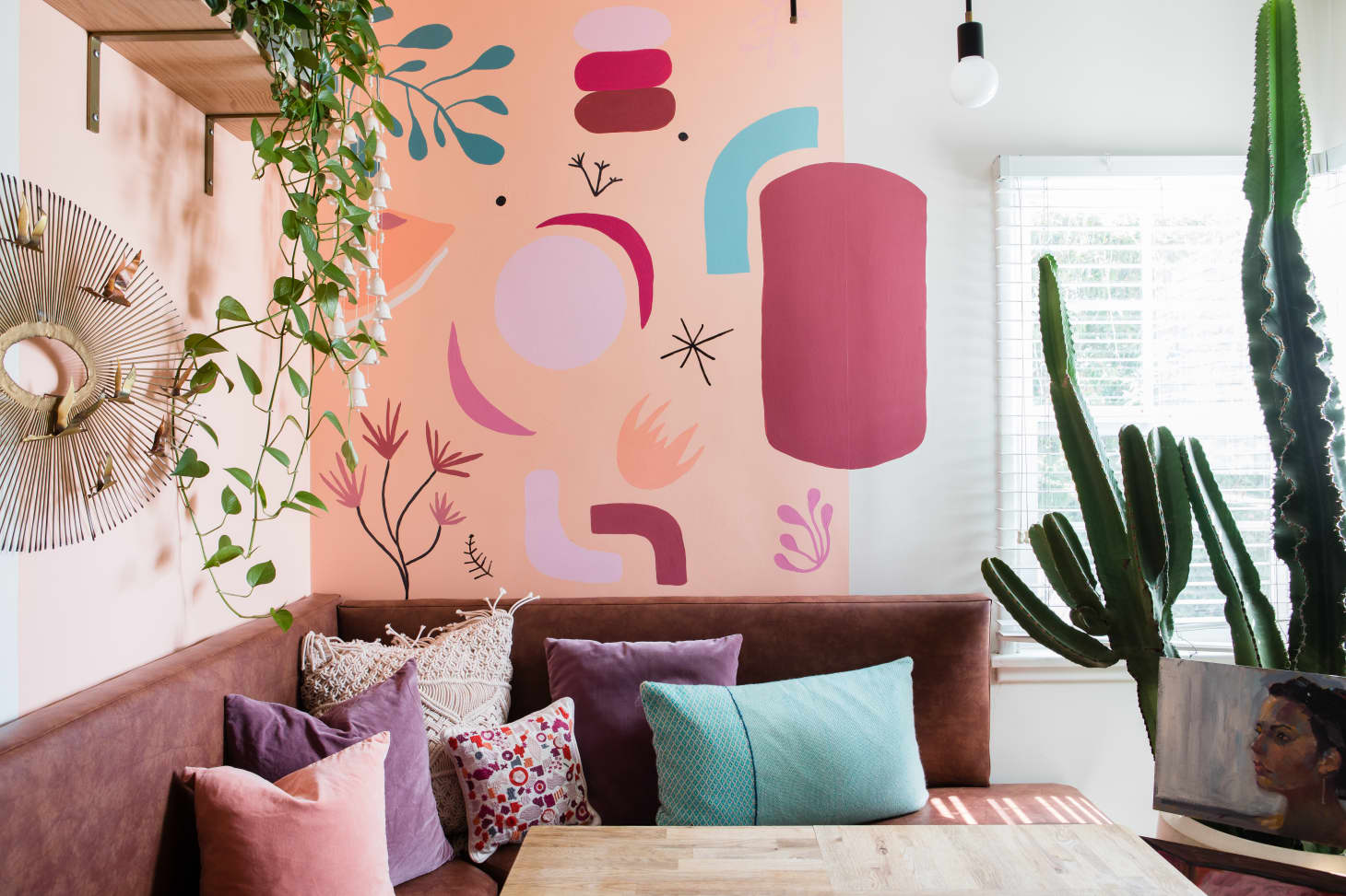 Wall Mural Diy Decor Ideas Apartment Therapy