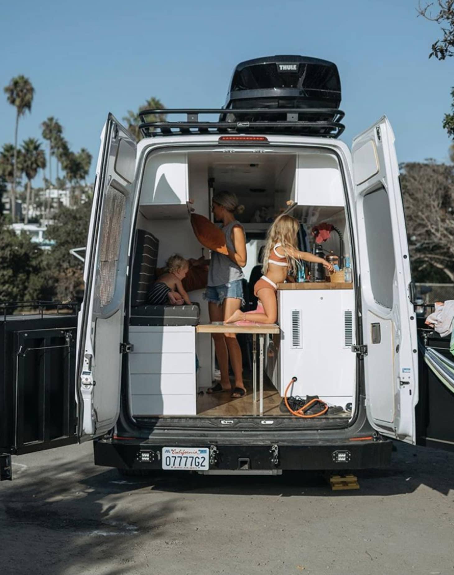 Mercedes Sprinter Van Life - Converted Home Photos