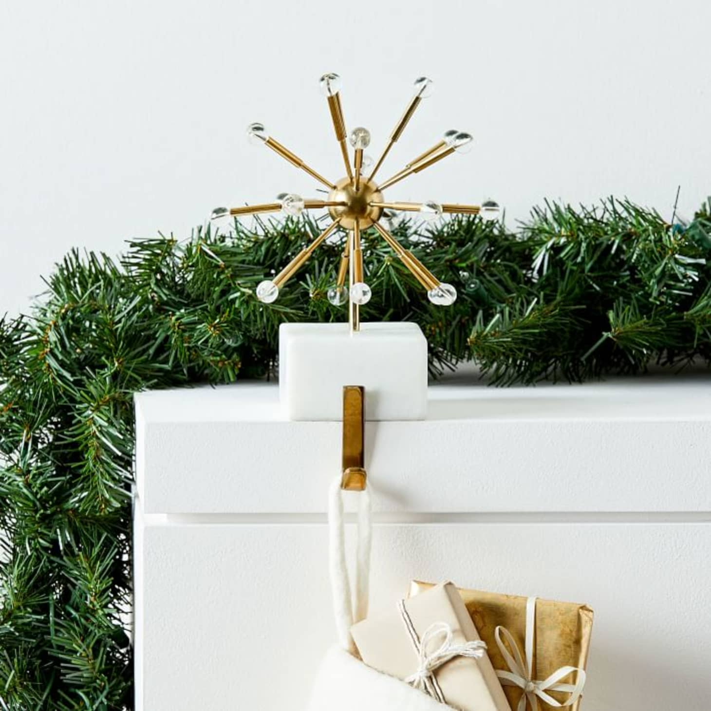 West Elm Christmas 2018.The 30 Best Most Beautiful Stocking Holders Apartment Therapy