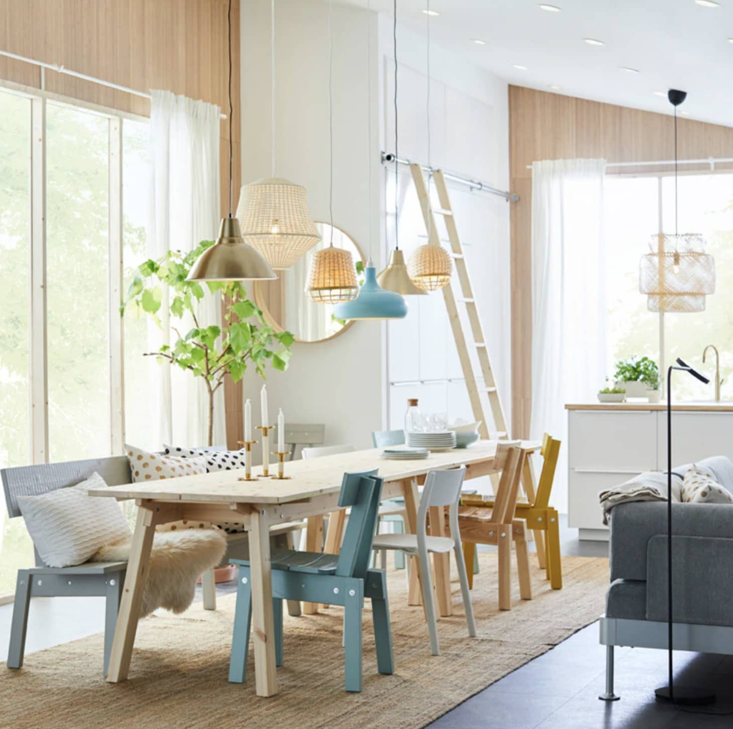 Pleasing Clever Dining Room Design Ideas To Steal From Ikea Beutiful Home Inspiration Truamahrainfo