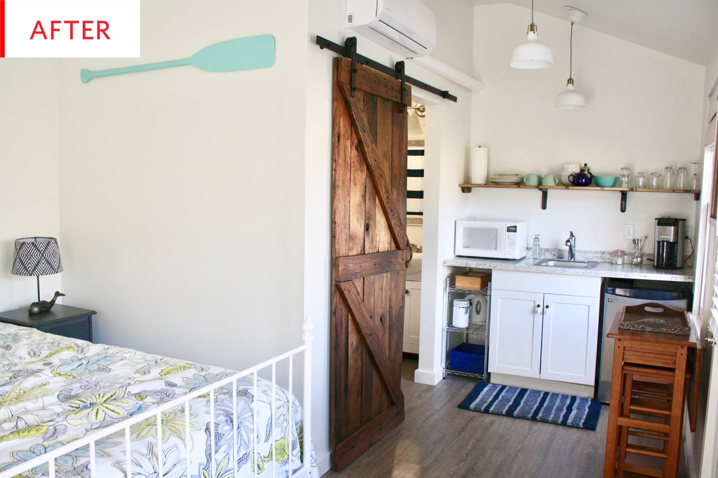 Airbnb Converted Backyard Shed Remodel Design Ideas
