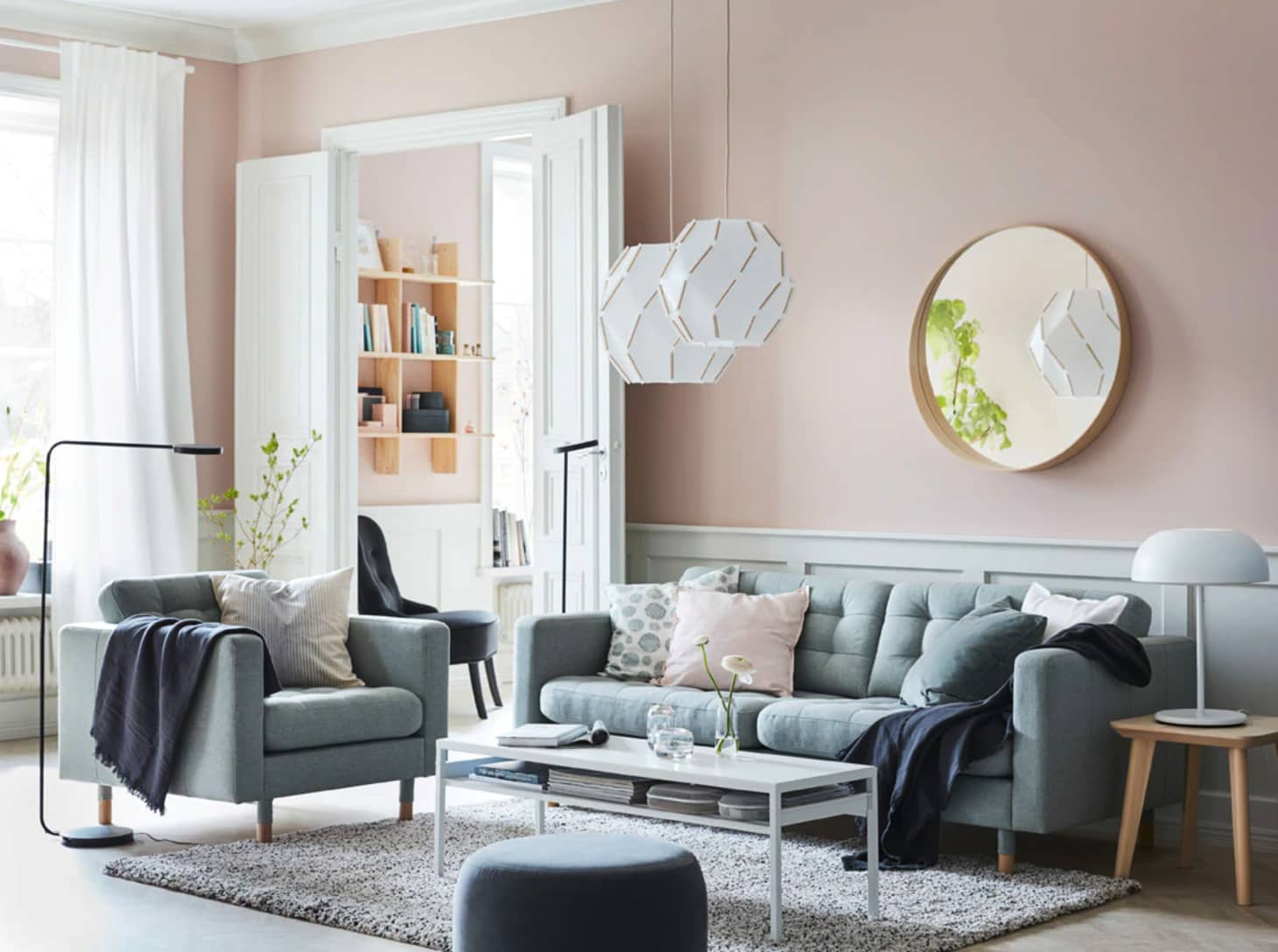 Ikea Living Room >> Colorful Living Room Design Ideas To Steal From Ikea