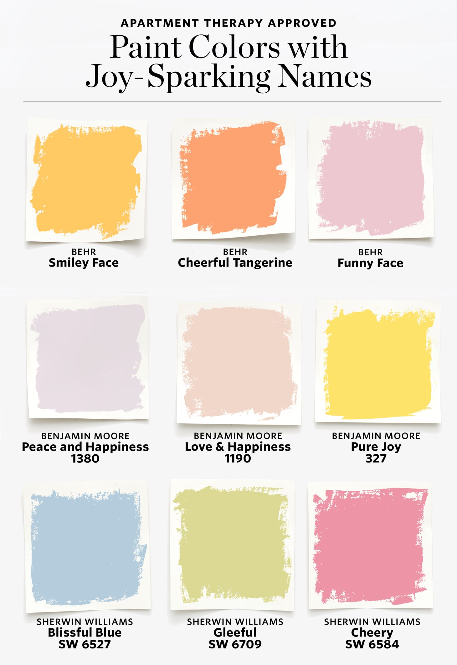 Happy Paint Colors To Spark Joy | Apartment Therapy