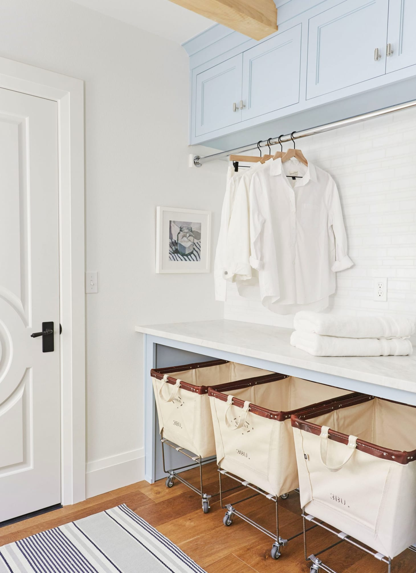 Easy Laundry Room Upgrade Ideas | Apartment Therapy